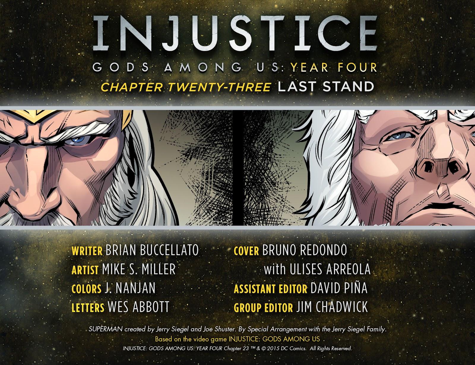 Injustice: Gods Among Us Year Four Issue #23 #24 - English 3