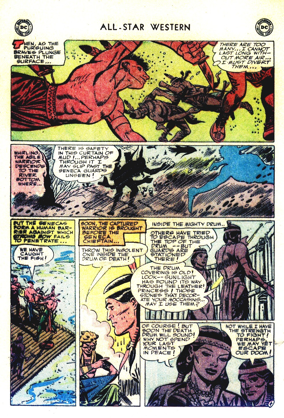 Read online All-Star Western (1951) comic -  Issue #66 - 32