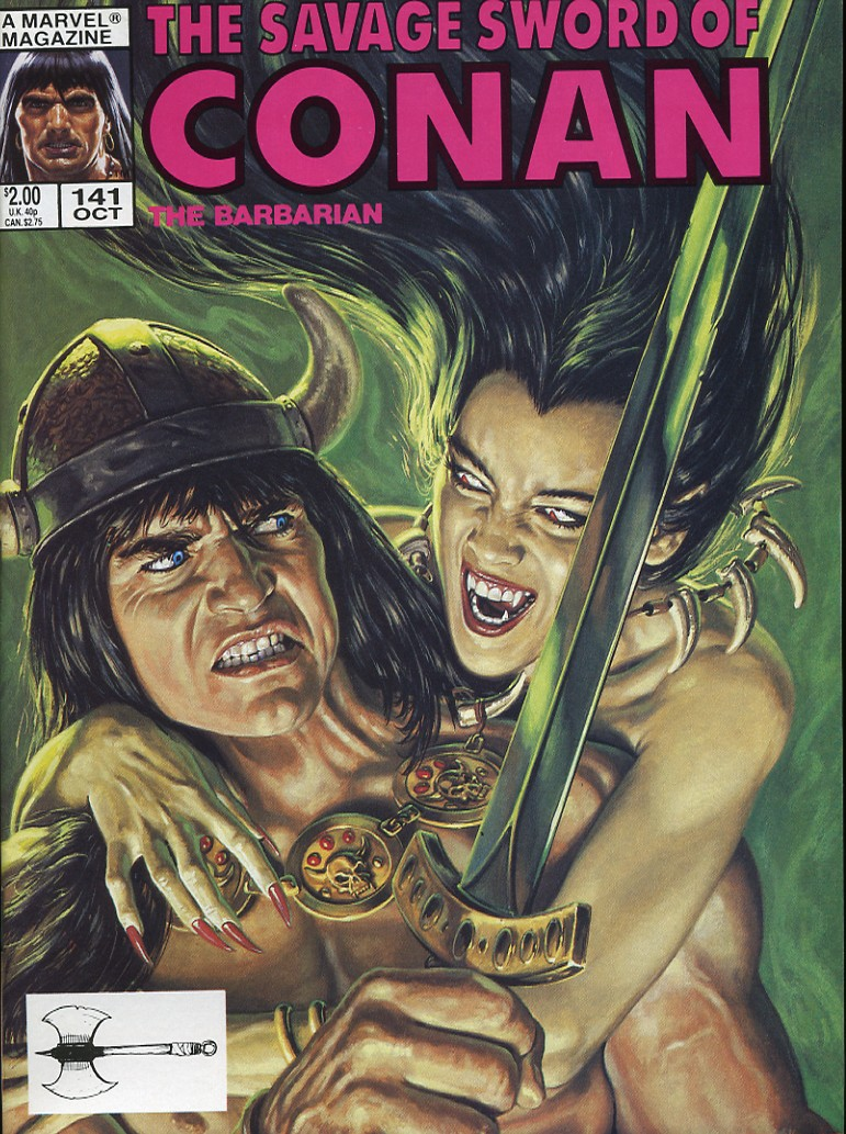 The Savage Sword Of Conan Issue #141 #142 - English 1