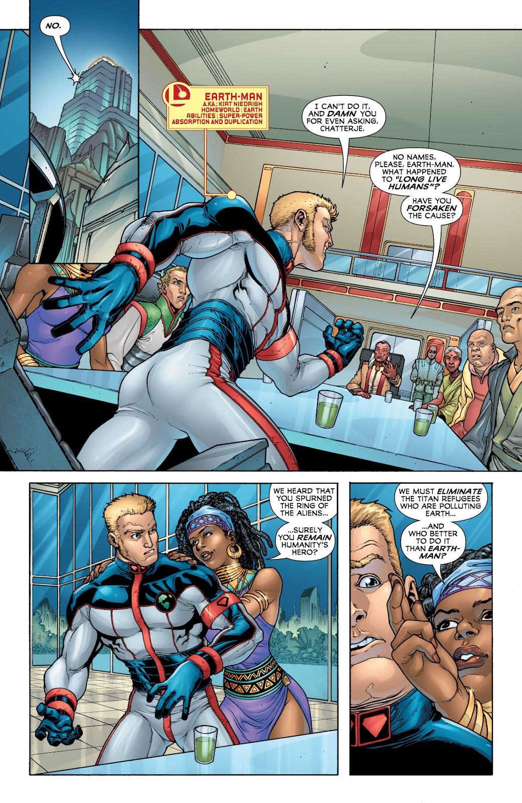 Legion of Super-Heroes (2010) Issue #4 #5 - English 8