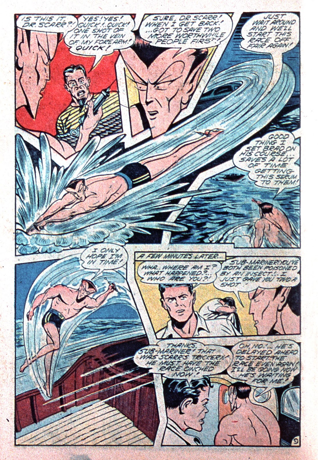Sub-Mariner Comics Issue #15 #15 - English 38