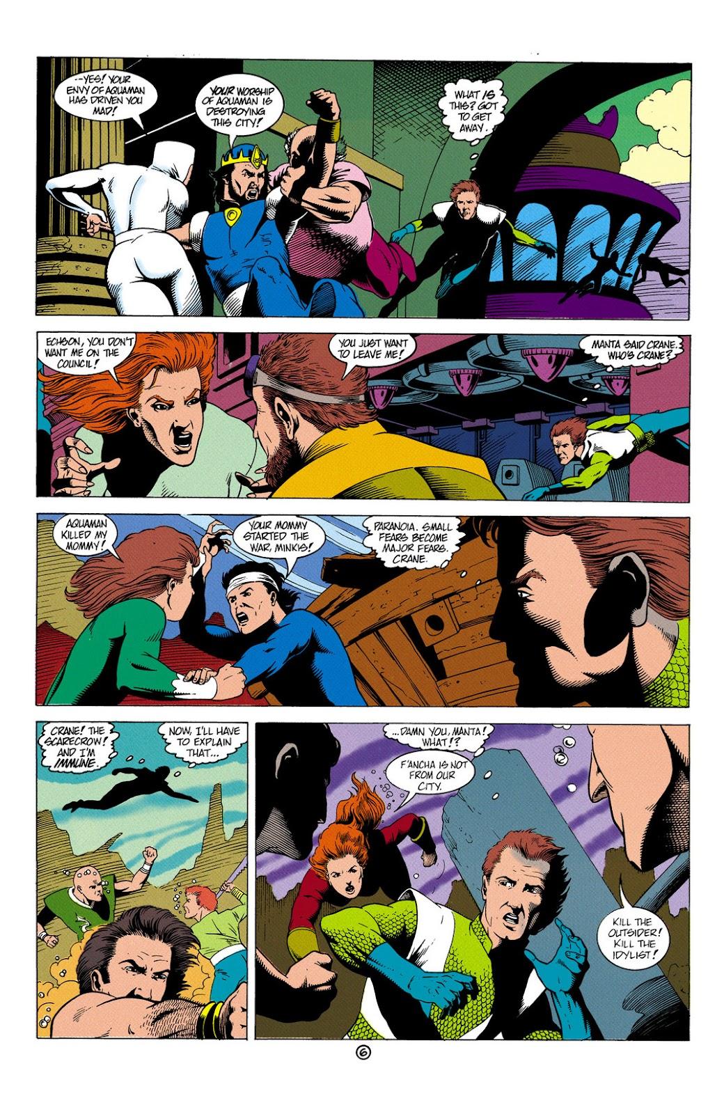 Aquaman (1991) Issue #6 #6 - English 7