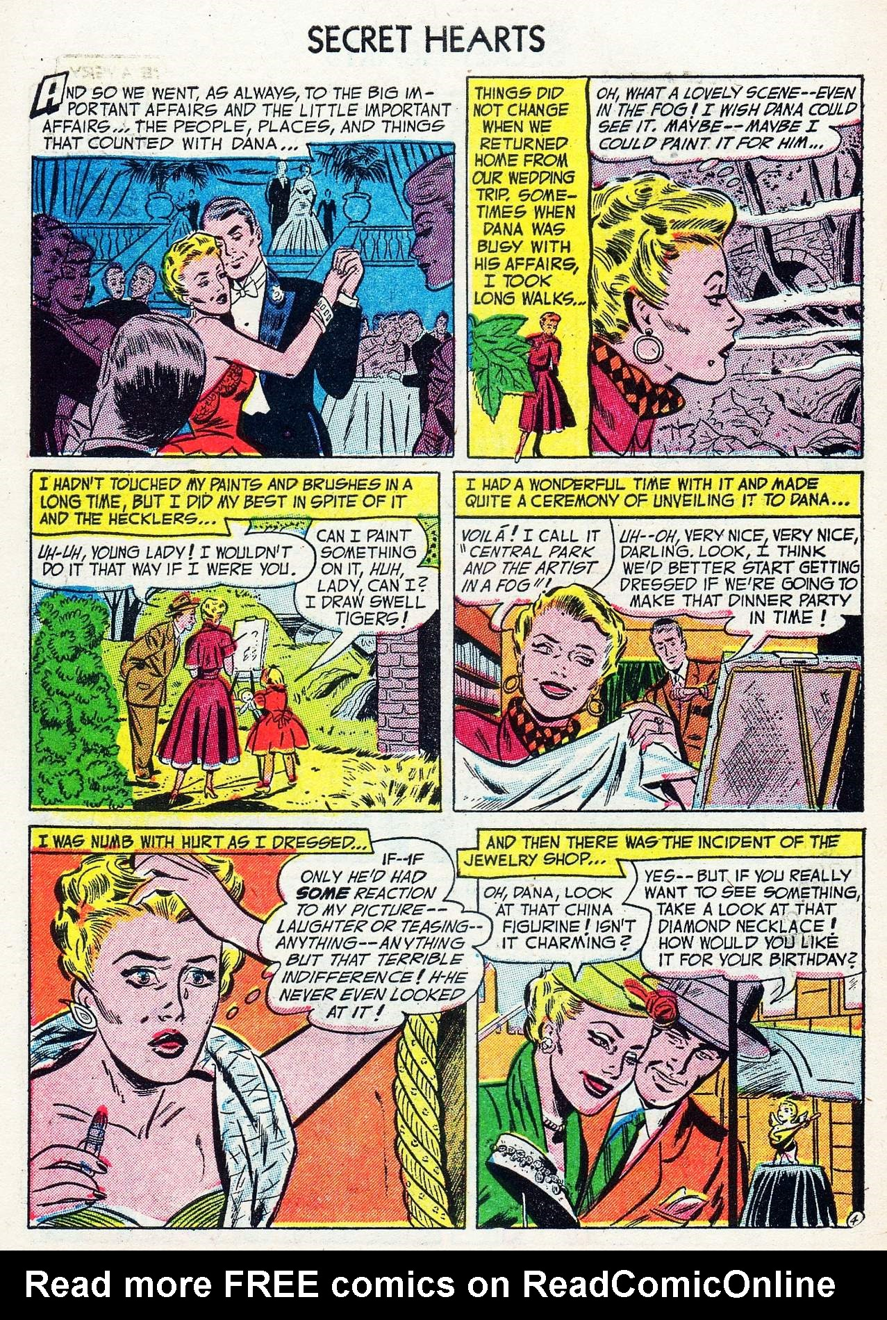 Read online Secret Hearts comic -  Issue #16 - 6