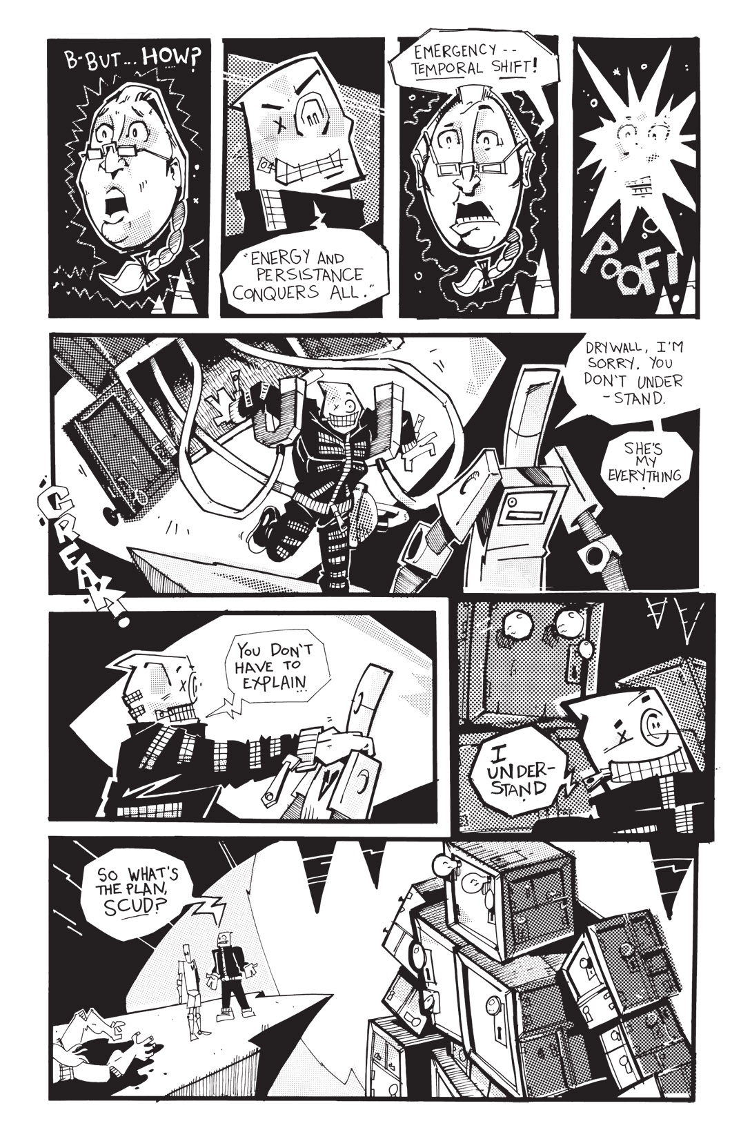 Read online Scud: The Disposable Assassin: The Whole Shebang comic -  Issue # TPB (Part 4) - 104