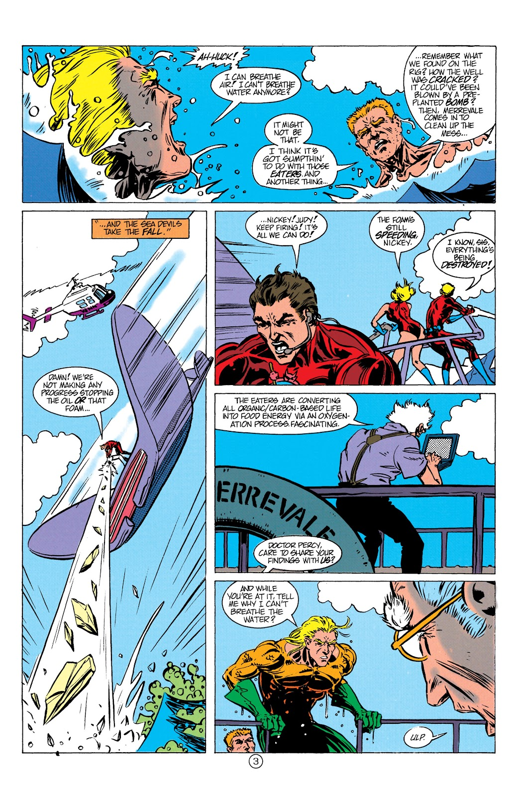 Aquaman (1991) Issue #10 #10 - English 4