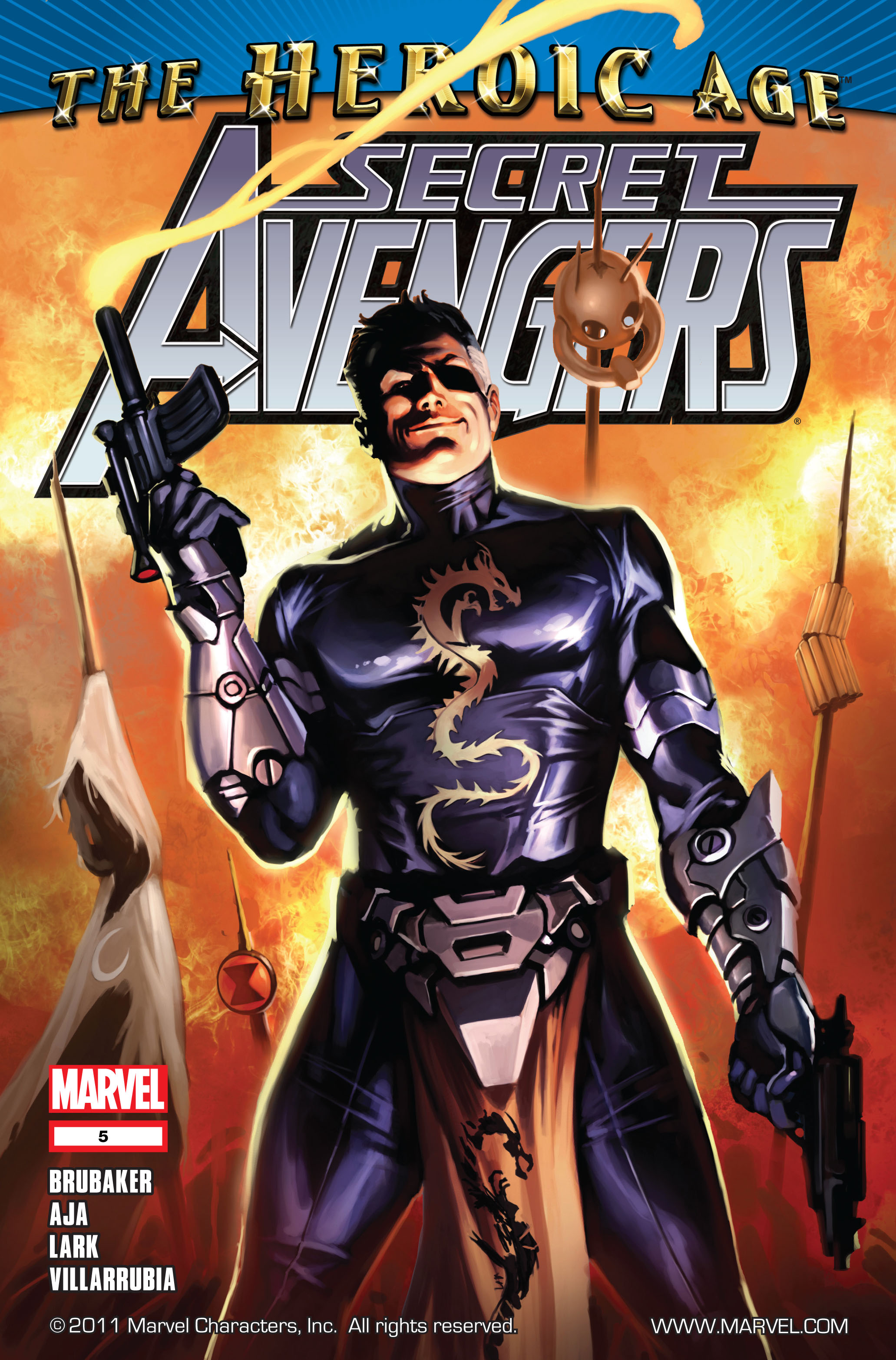 Read online Secret Avengers (2010) comic -  Issue #5 - 1