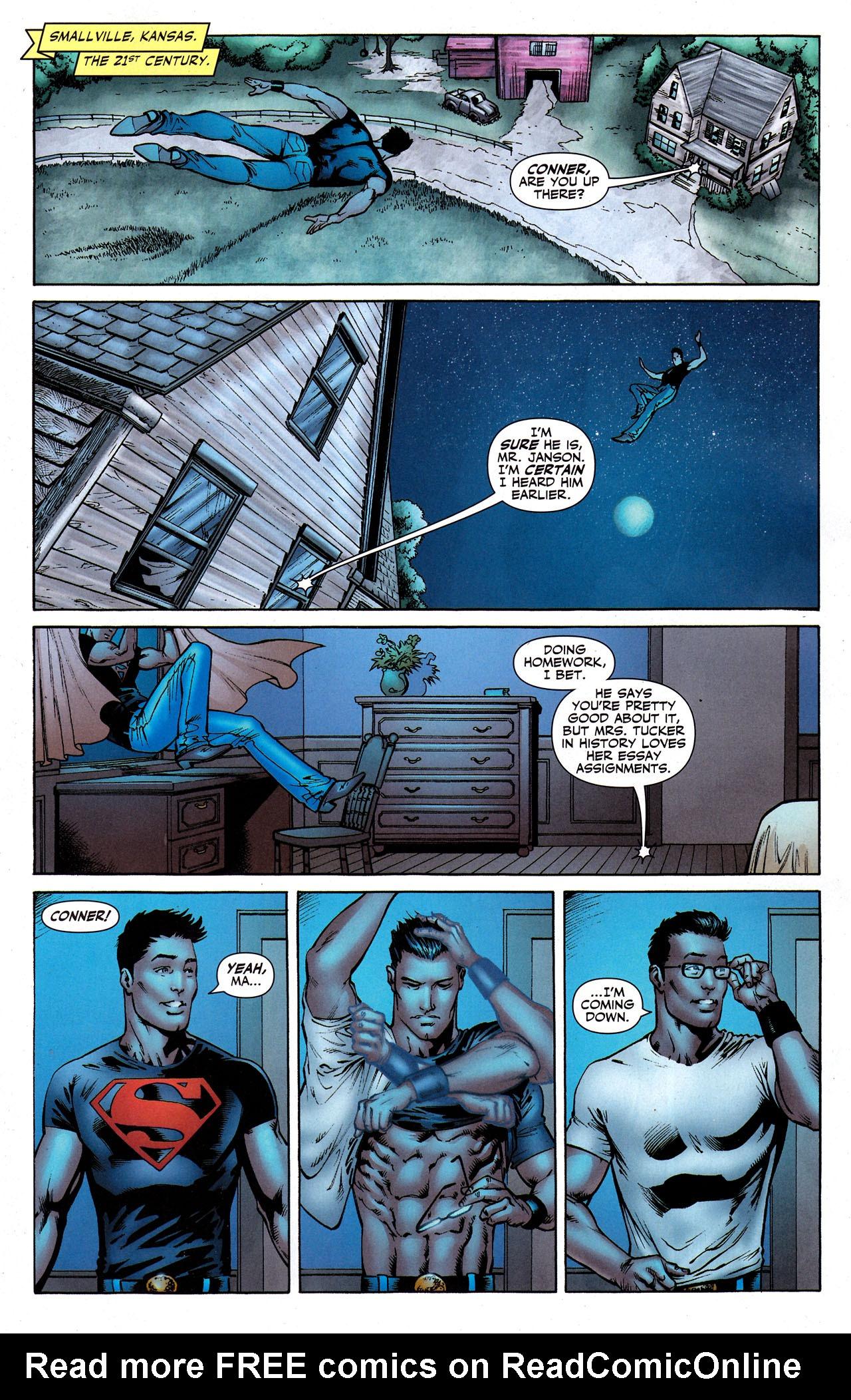 Read online Adventure Comics (2009) comic -  Issue #8 - 12
