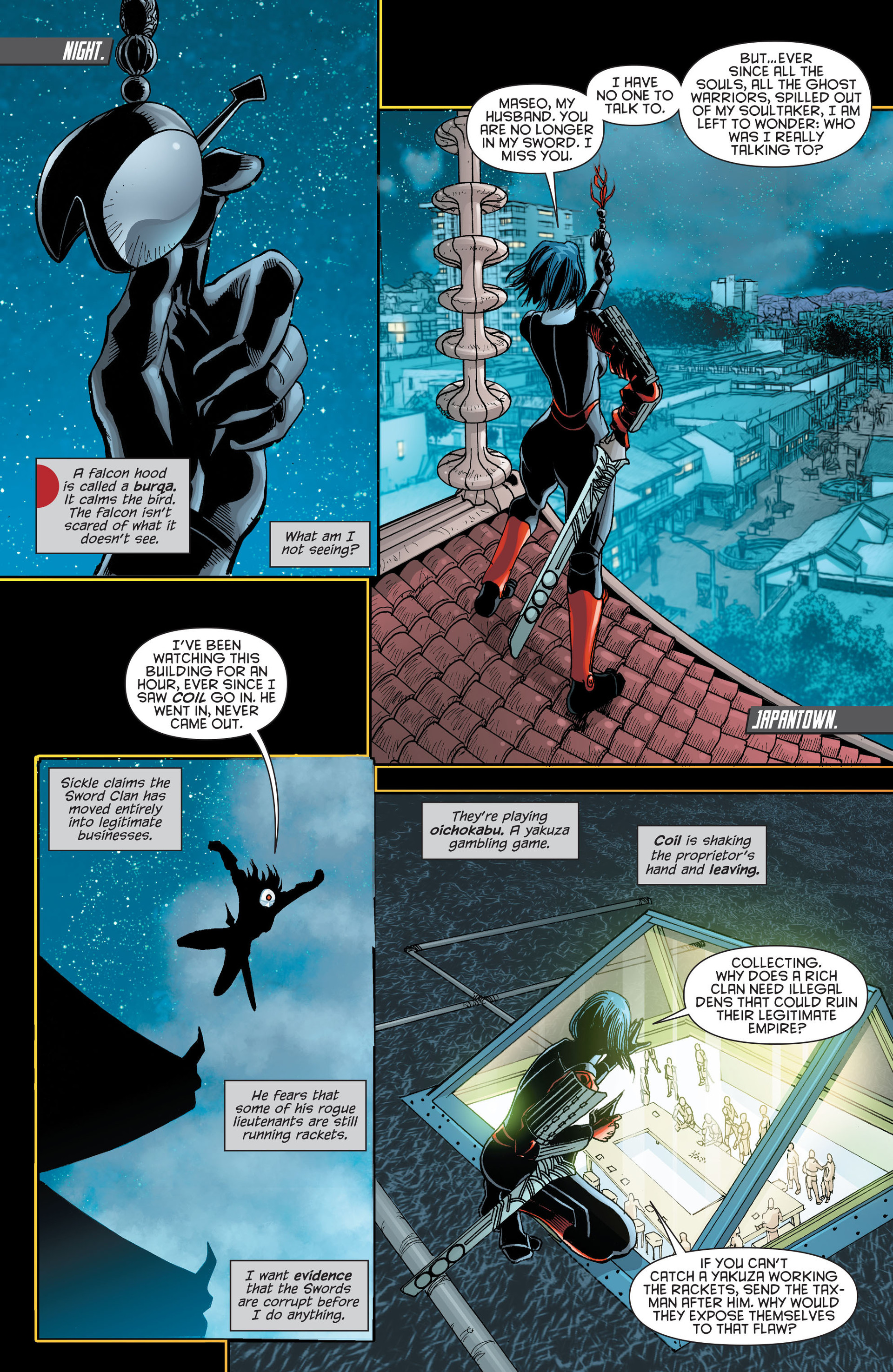 Read online Katana comic -  Issue #9 - 11
