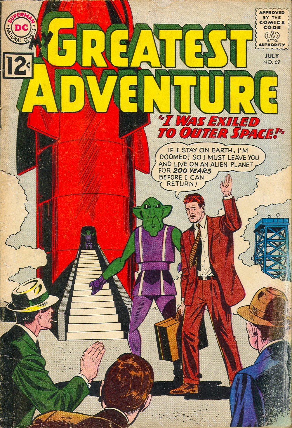 My Greatest Adventure (1955) 69 Page 1