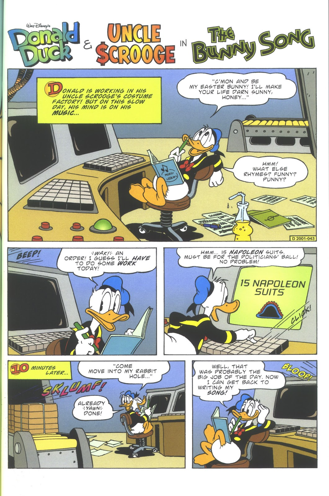 Uncle Scrooge (1953) Issue #352 #352 - English 55