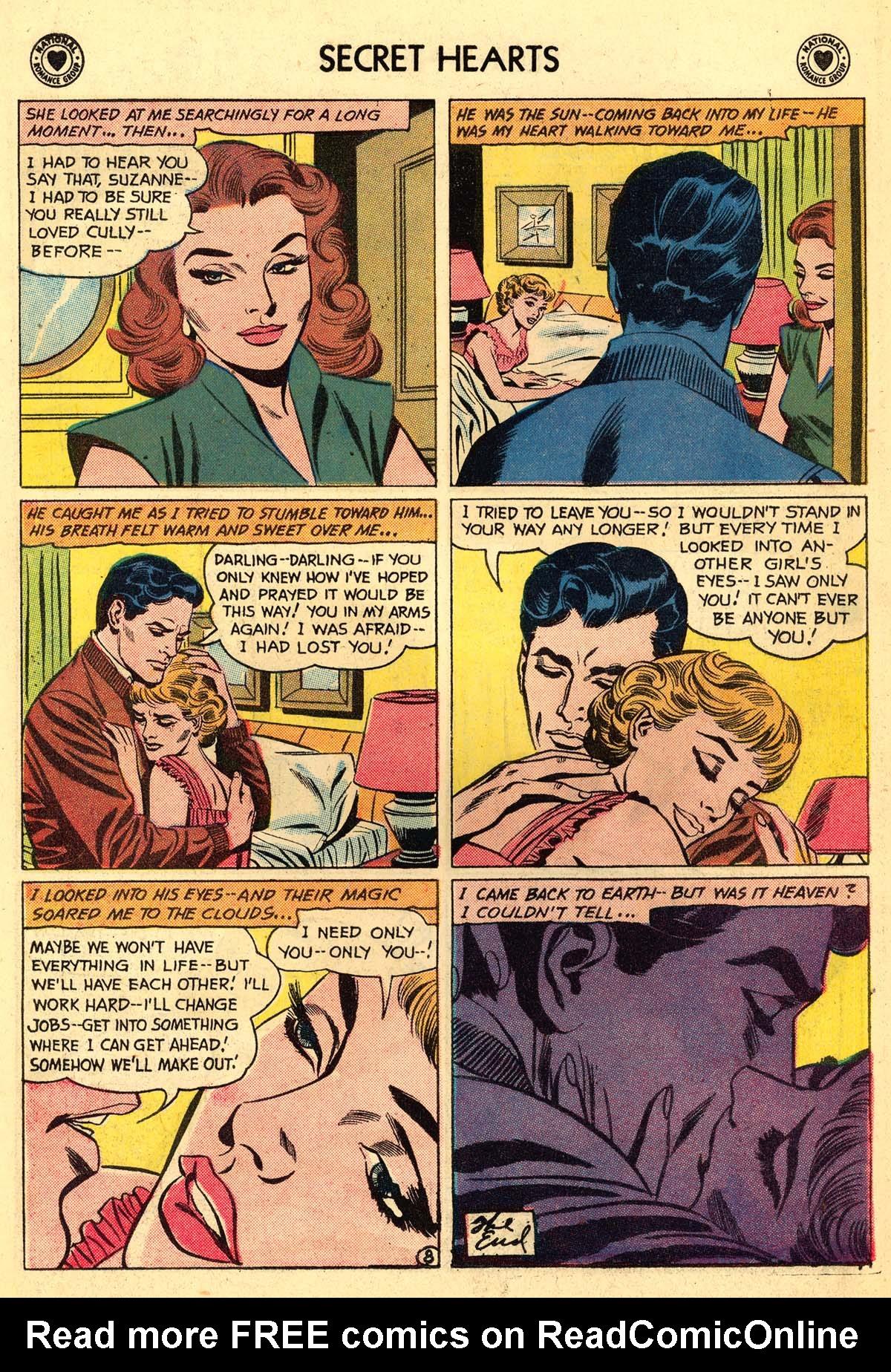 Read online Secret Hearts comic -  Issue #59 - 34