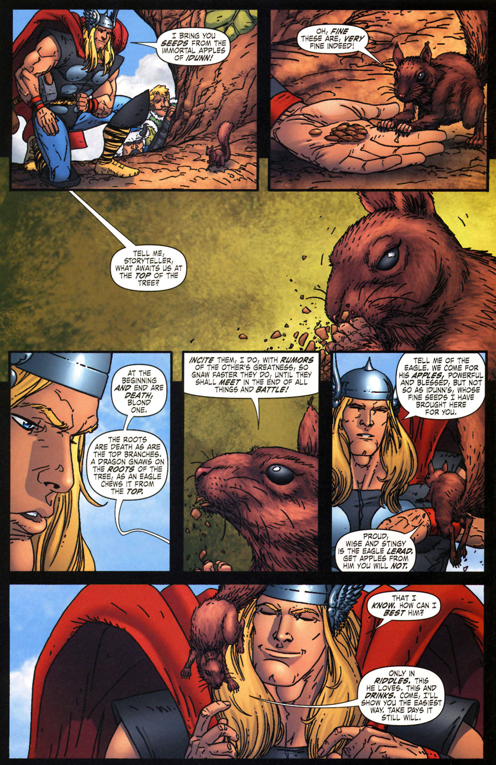 Read online Thor: Blood Oath comic -  Issue #2 - 7