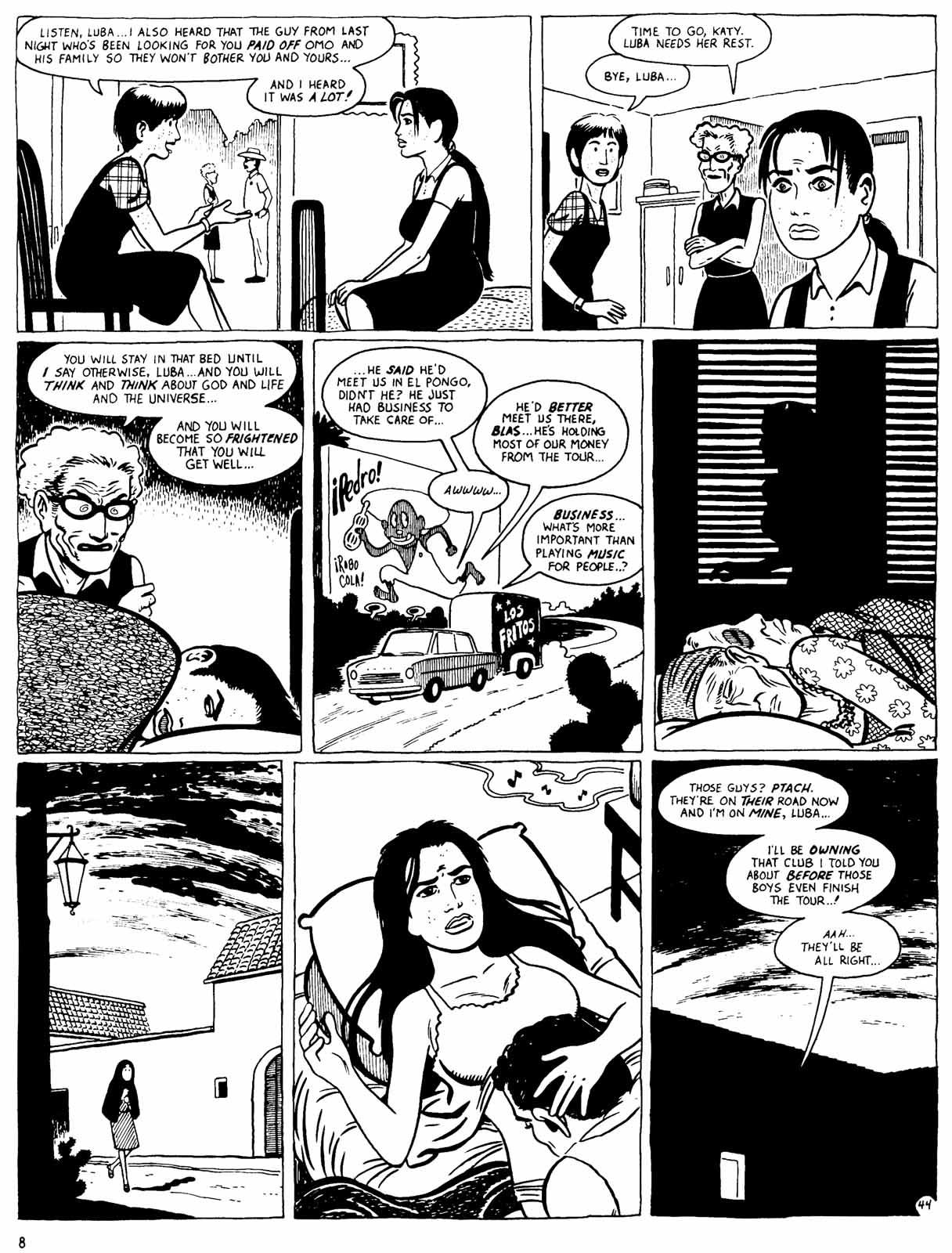Love and Rockets (1982) Issue #31 #29 - English 10