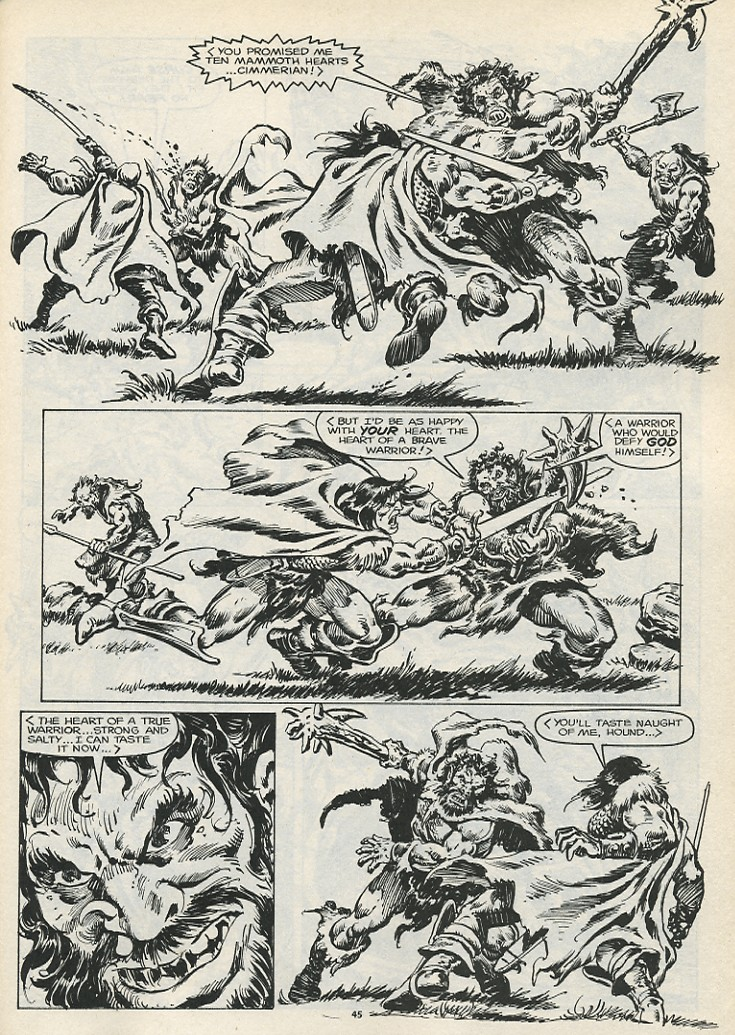 The Savage Sword Of Conan Issue #178 #179 - English 47