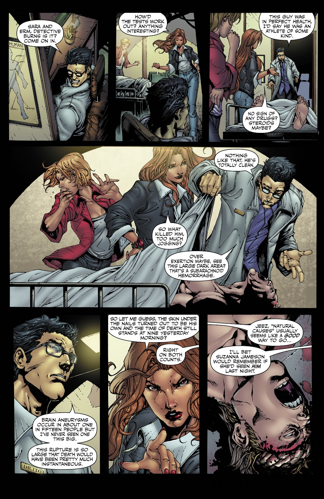 Read online Witchblade: Shades of Gray comic -  Issue #1 - 8