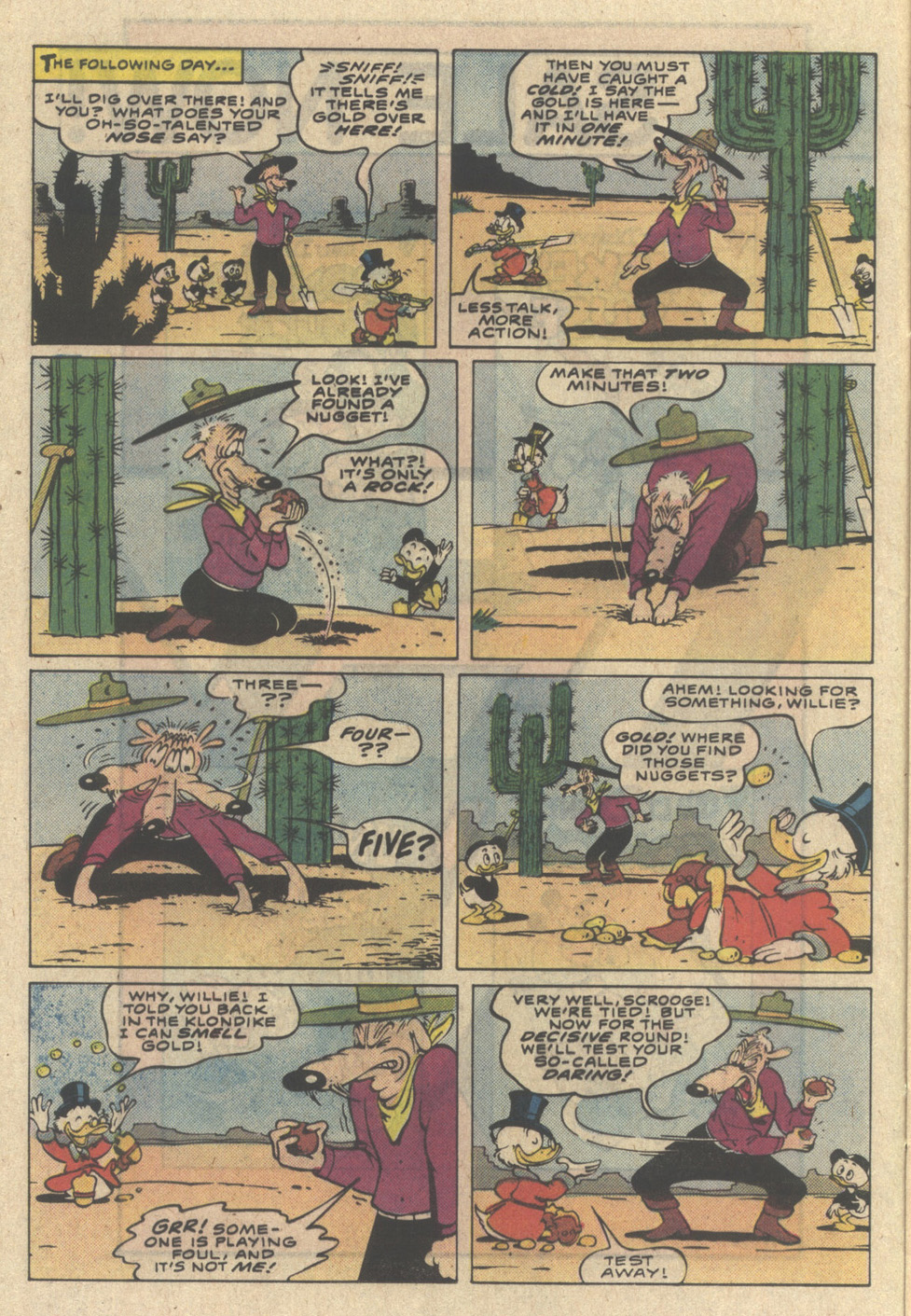 Uncle Scrooge (1953) Issue #218 #218 - English 12