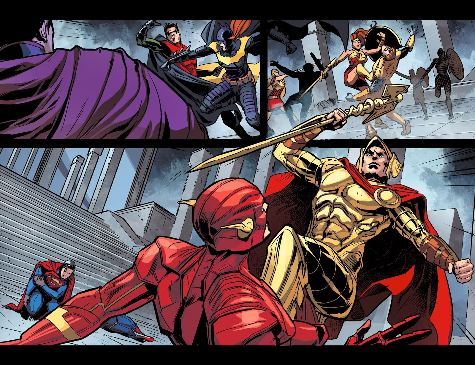 Injustice: Gods Among Us Year Four Issue #10 #11 - English 20