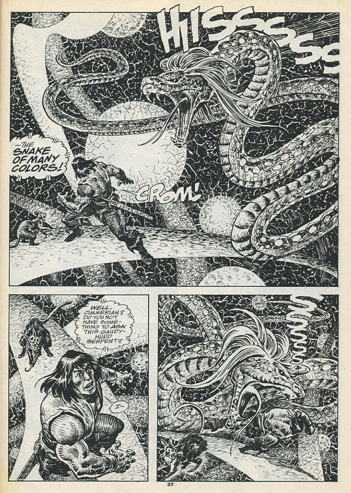 The Savage Sword Of Conan Issue #193 #194 - English 39