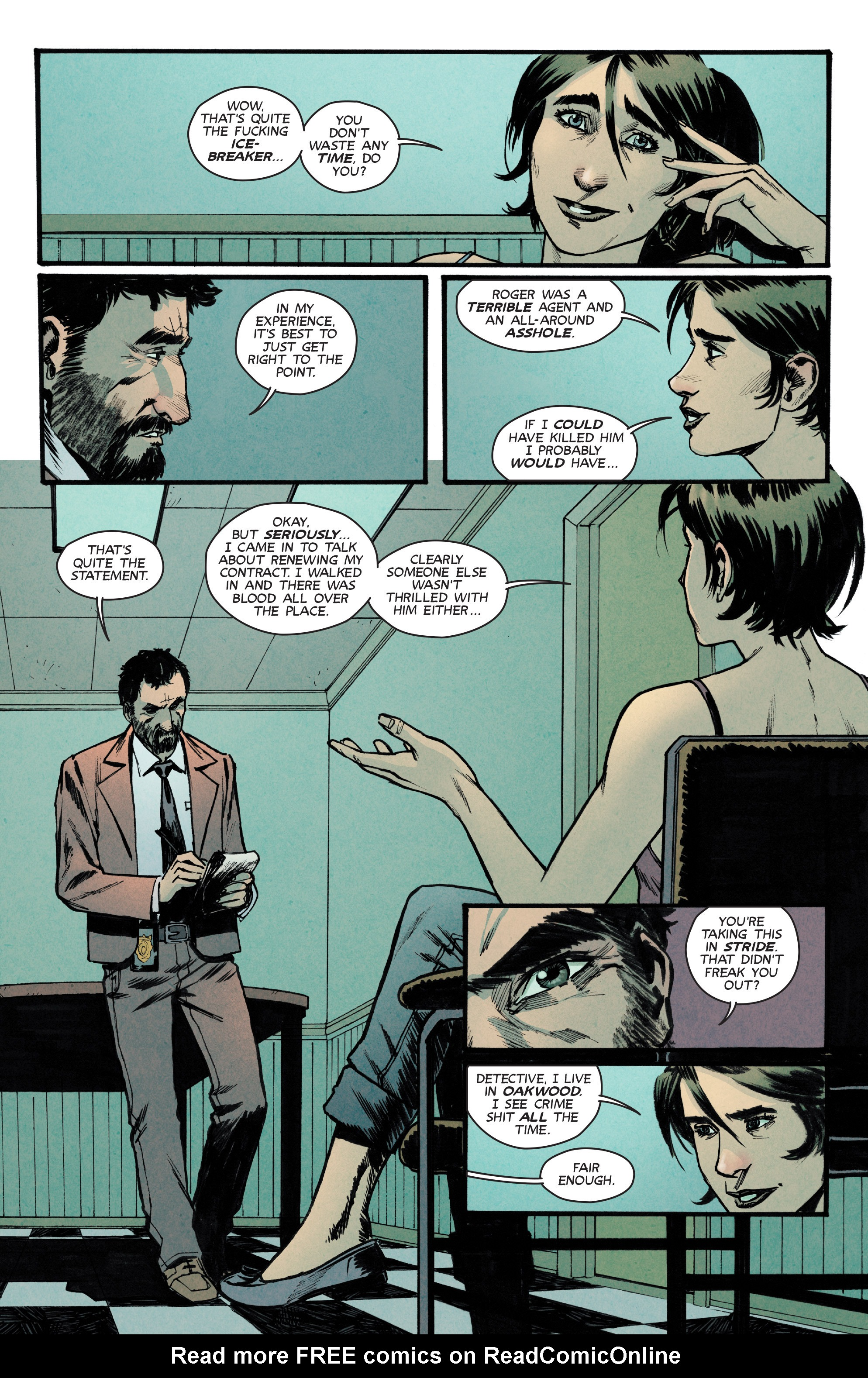 Read online Glitterbomb comic -  Issue #2 - 8