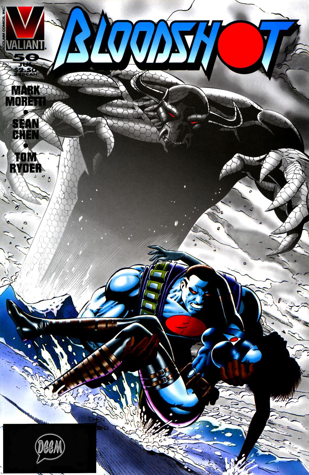 Read online Bloodshot (1993) comic -  Issue #50 - 1