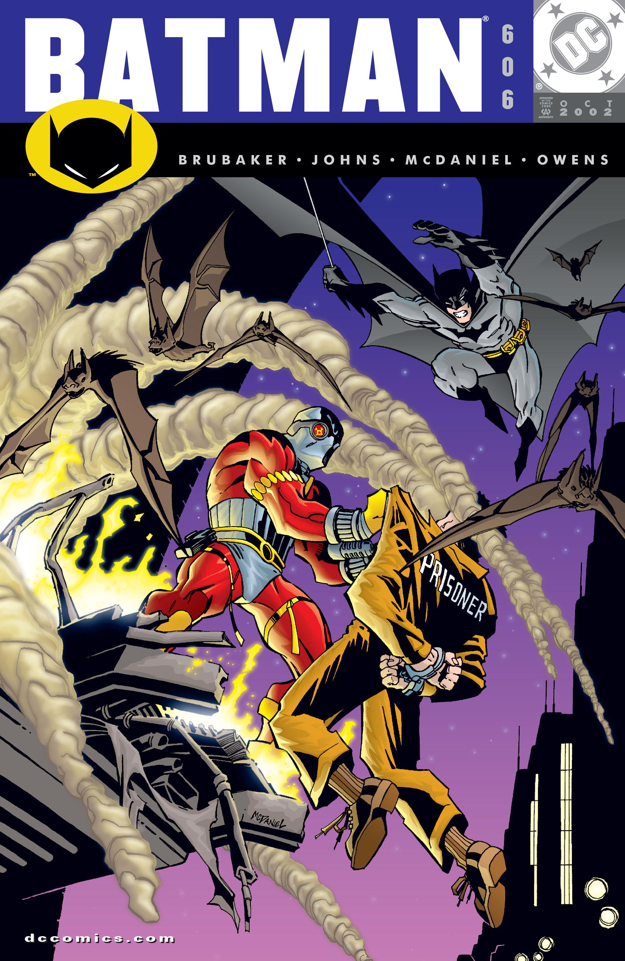 Batman (1940) 606 Page 1