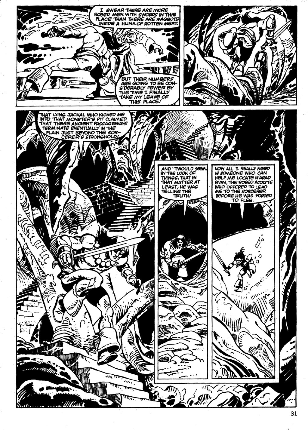 The Savage Sword Of Conan Issue #86 #87 - English 31