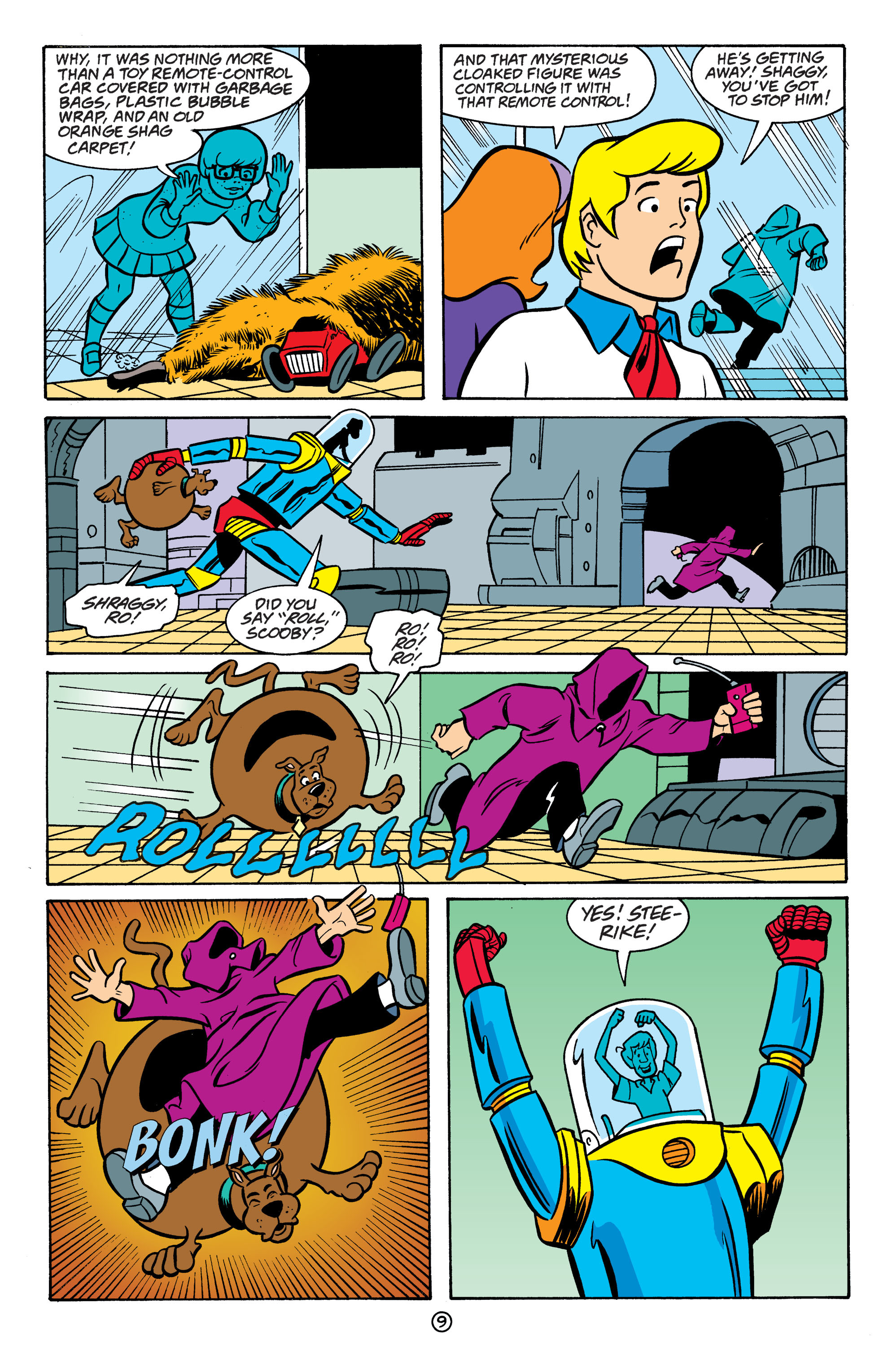 Read online Scooby-Doo: Where Are You? comic -  Issue #64 - 20