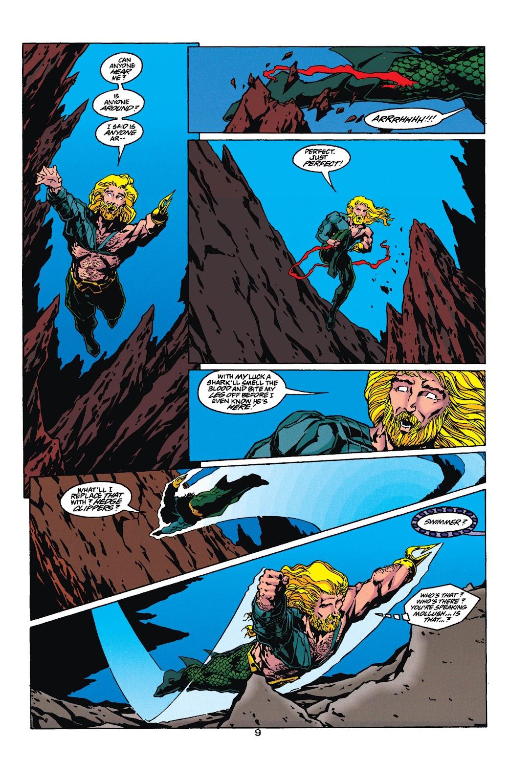 Aquaman (1994) Issue #35 #41 - English 9
