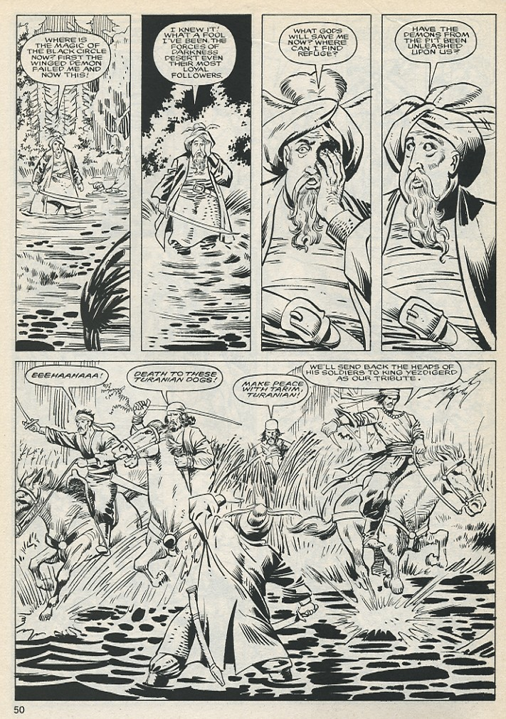 The Savage Sword Of Conan Issue #131 #132 - English 50