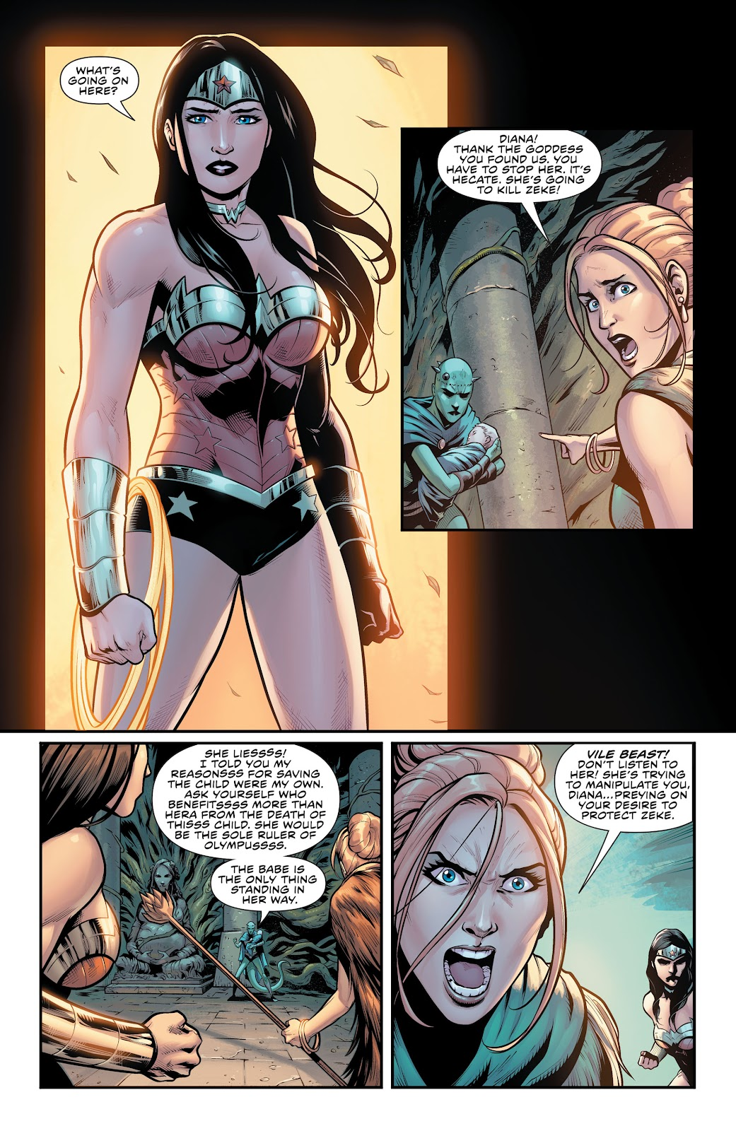 Wonder Woman (2011) Issue #52 #56 - English 9