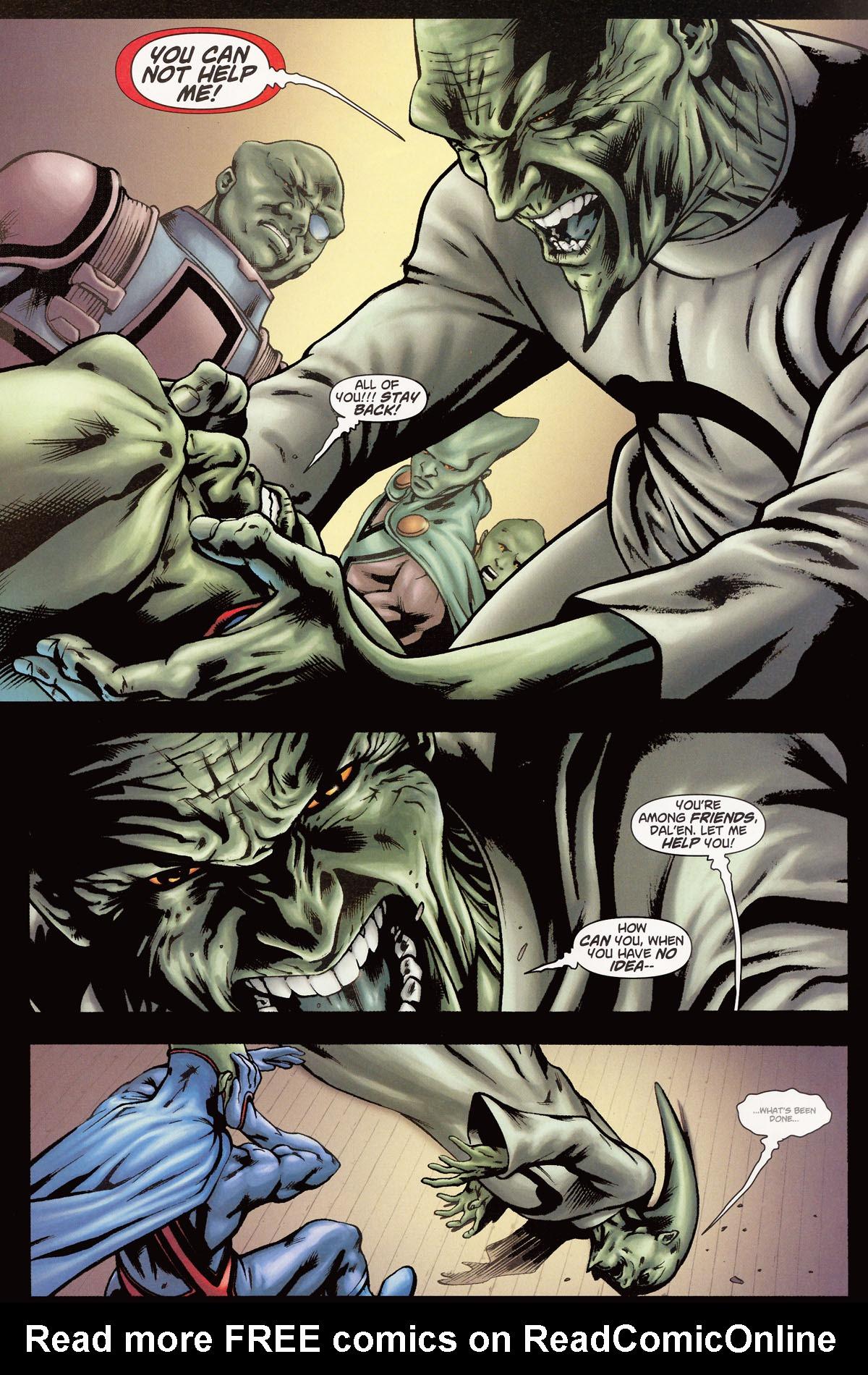Read online Martian Manhunter (2006) comic -  Issue #6 - 4
