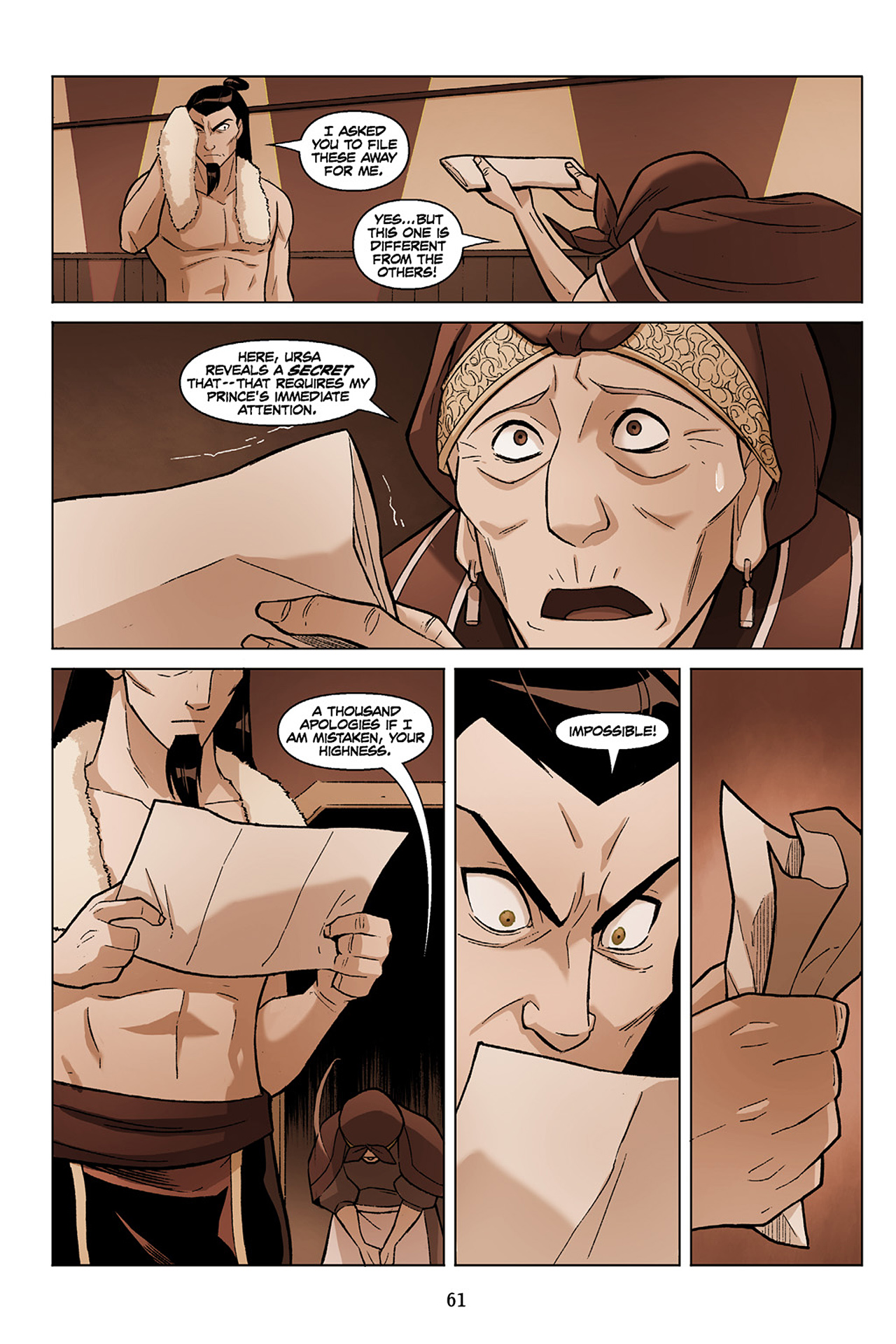 Read online Nickelodeon Avatar: The Last Airbender - The Search comic -  Issue # Part 1 - 62