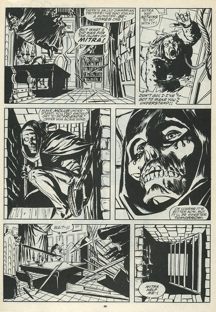 The Savage Sword Of Conan Issue #185 #186 - English 51