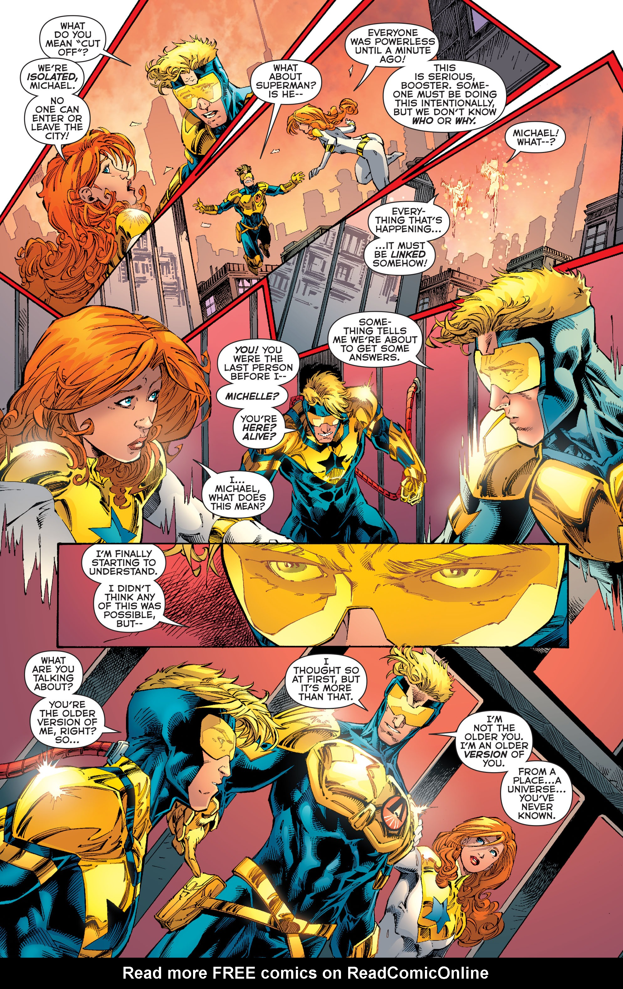 Read online Booster Gold: Futures End comic -  Issue # Full - 18