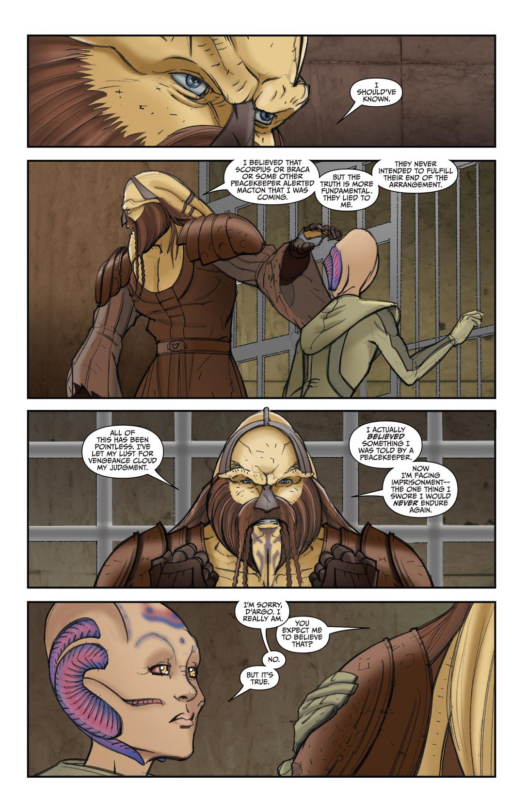 Read online Farscape: D'Argo's Quest comic -  Issue #4 - 10