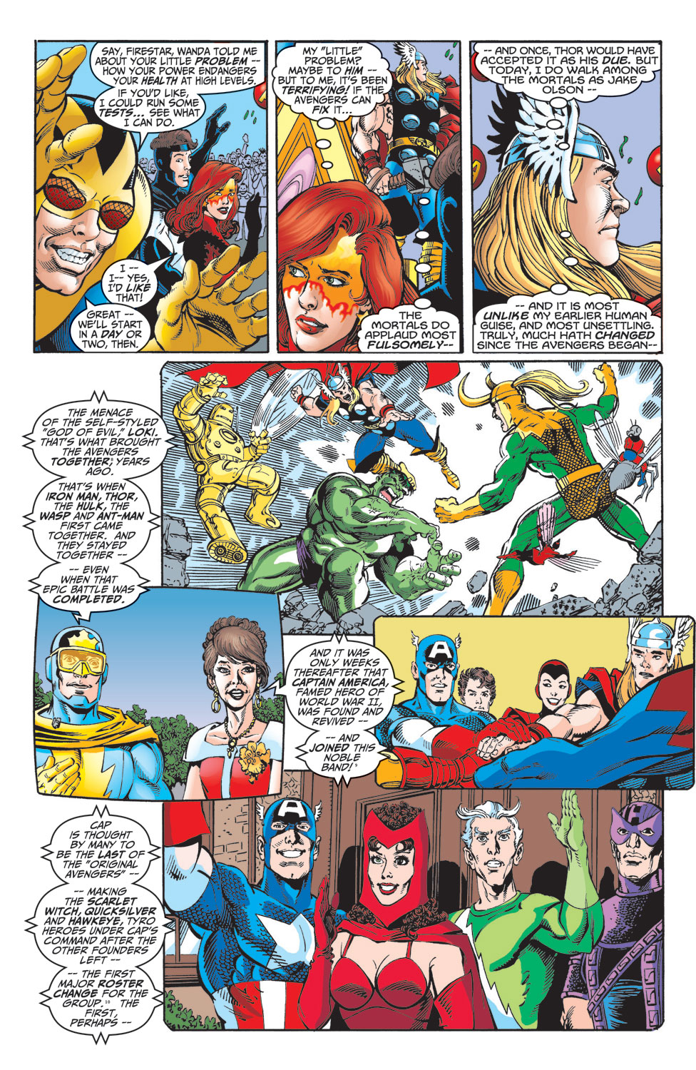 Read online Avengers (1998) comic -  Issue #10 - 5