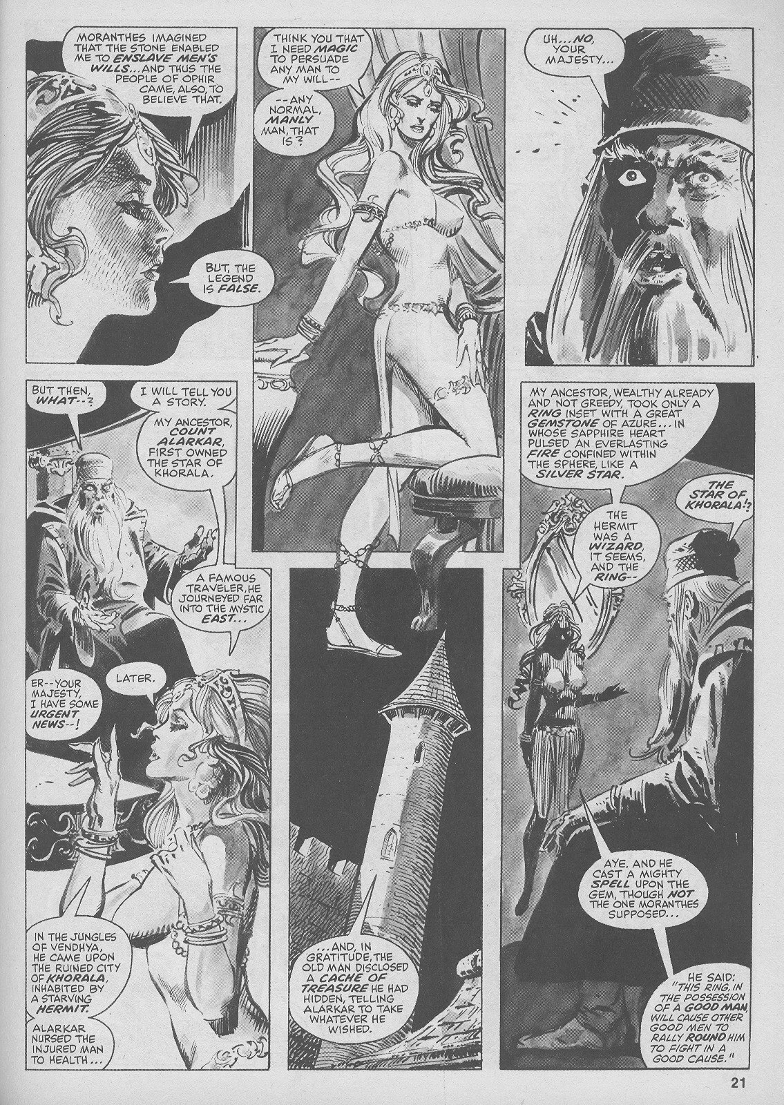 The Savage Sword Of Conan Issue #44 #45 - English 21