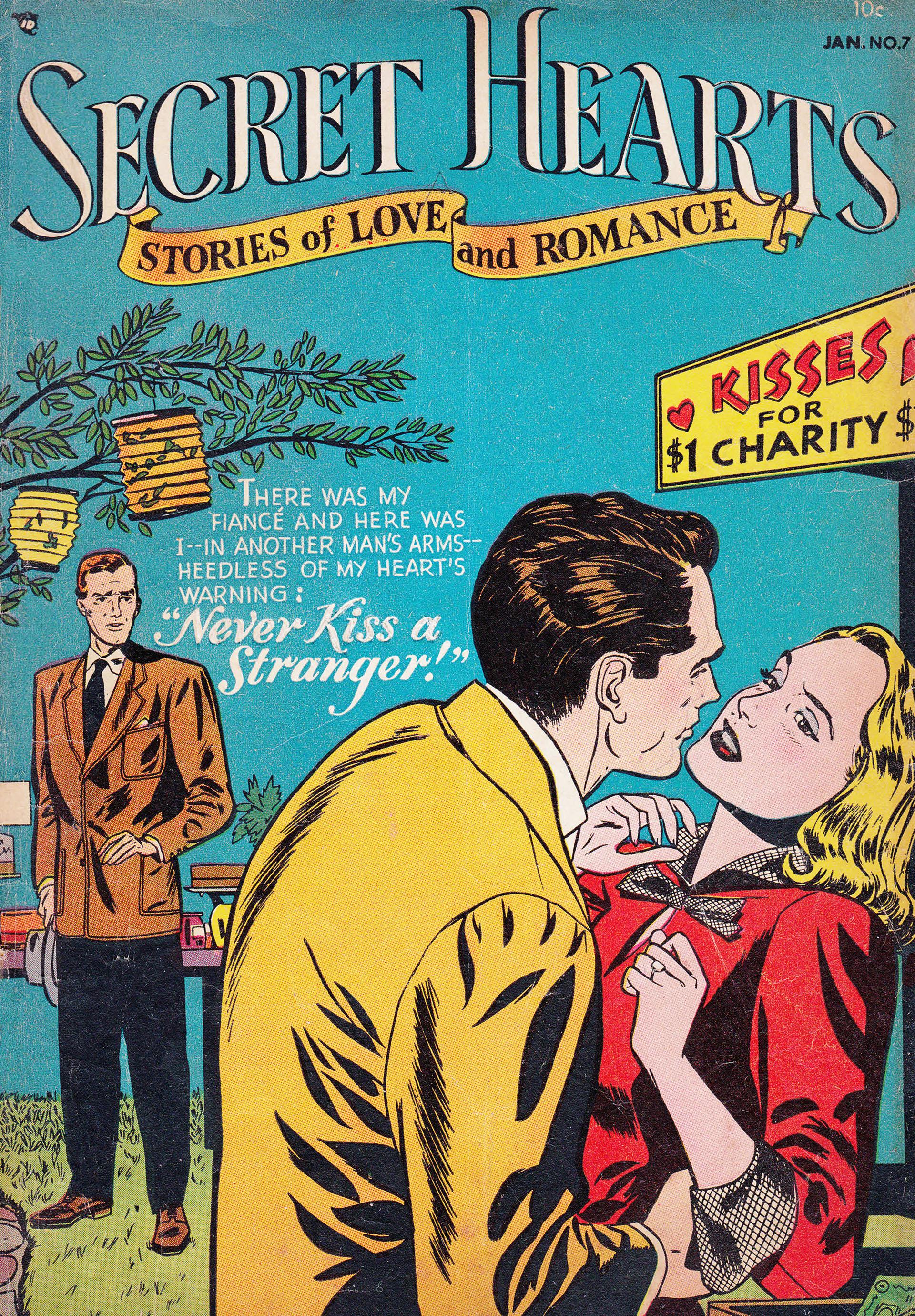 Read online Secret Hearts comic -  Issue #7 - 1