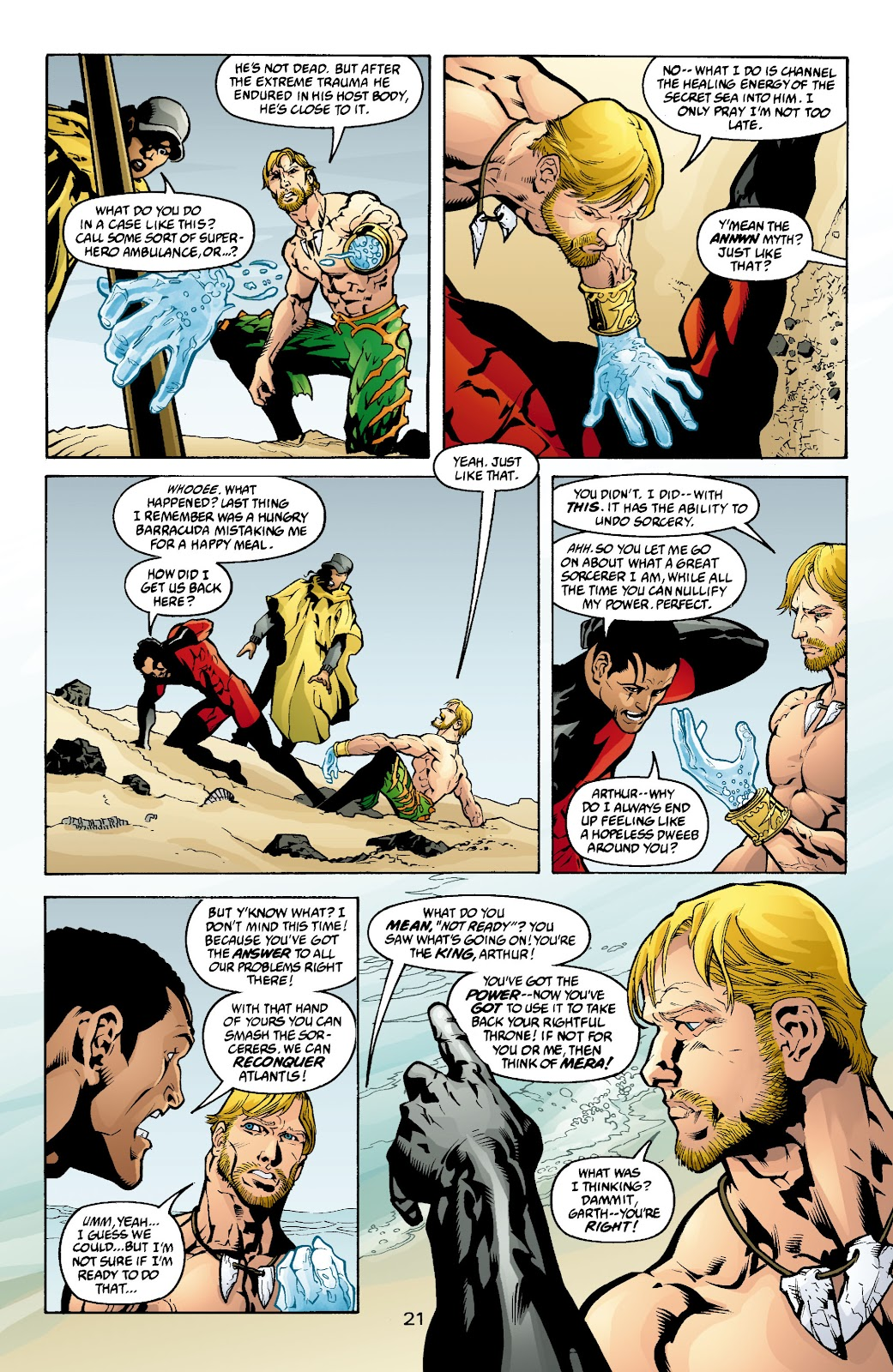 Aquaman (2003) Issue #4 #4 - English 22