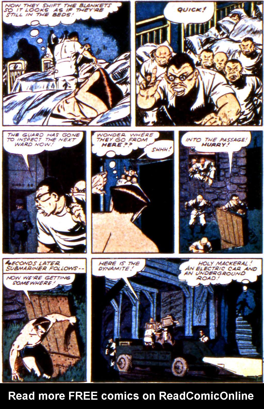 Sub-Mariner Comics Issue #11 #11 - English 34