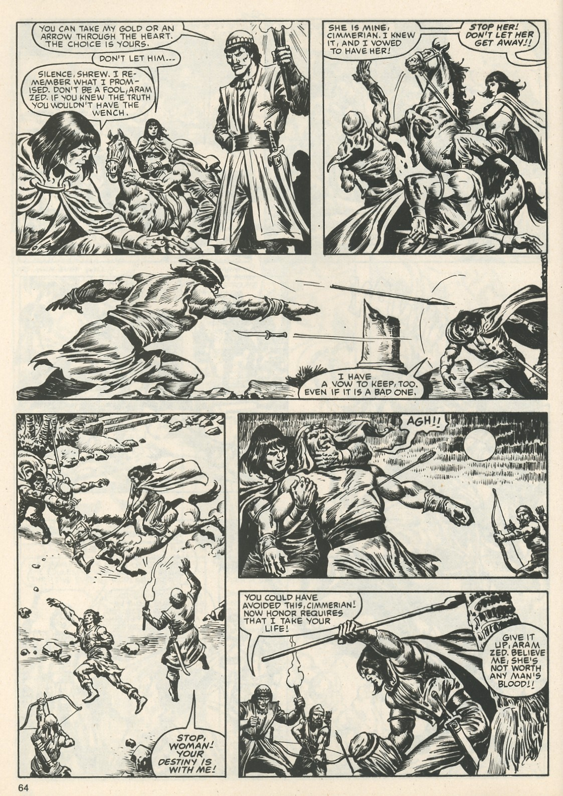 The Savage Sword Of Conan Issue #111 #112 - English 67