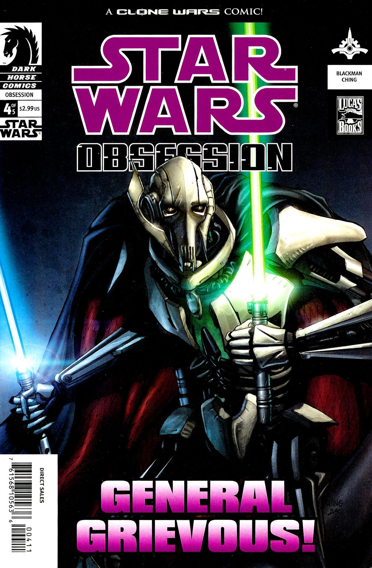 Star Wars: Obsession #4 #4 - English 1