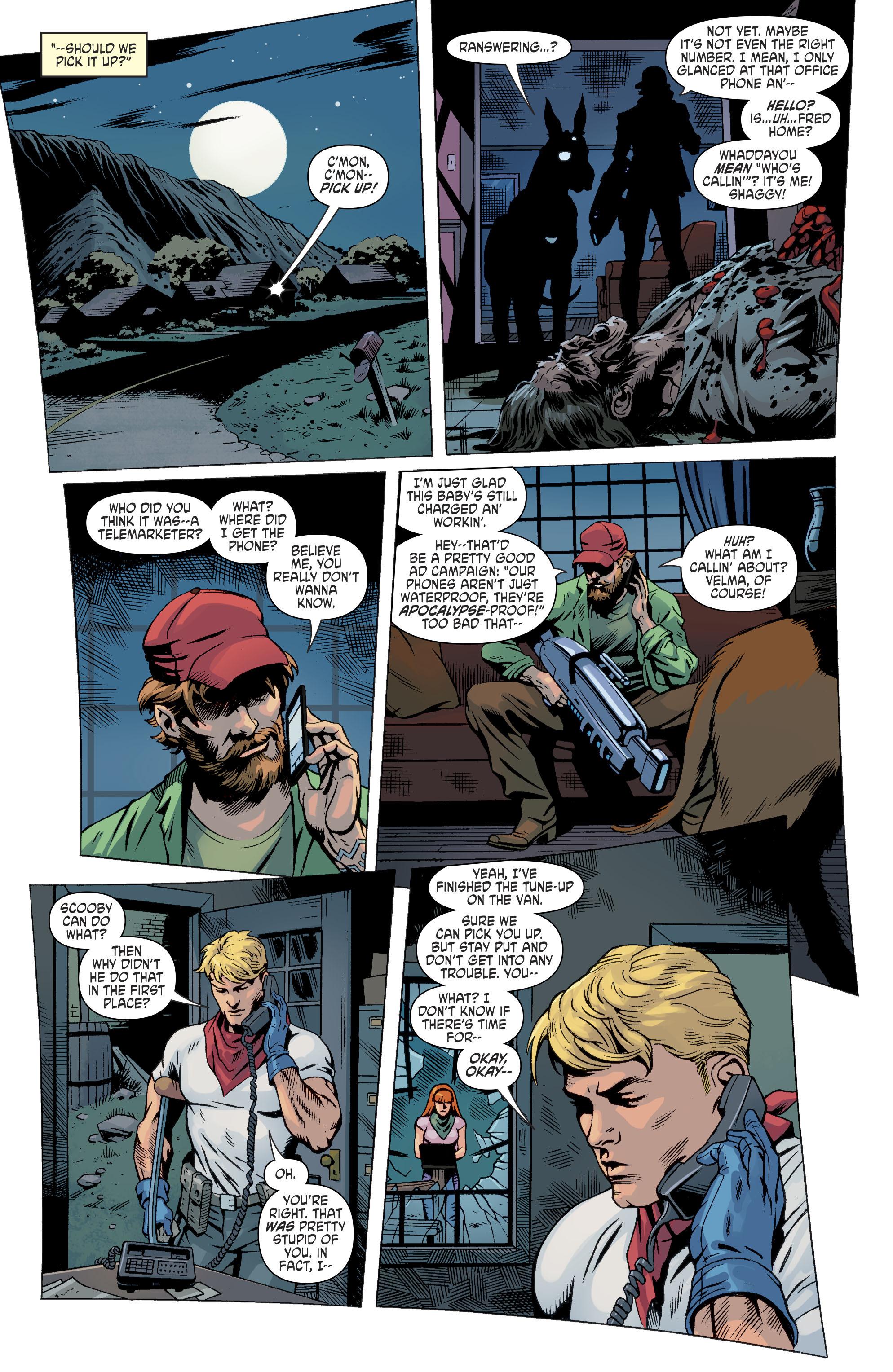 Read online Scooby Apocalypse comic -  Issue #11 - 11
