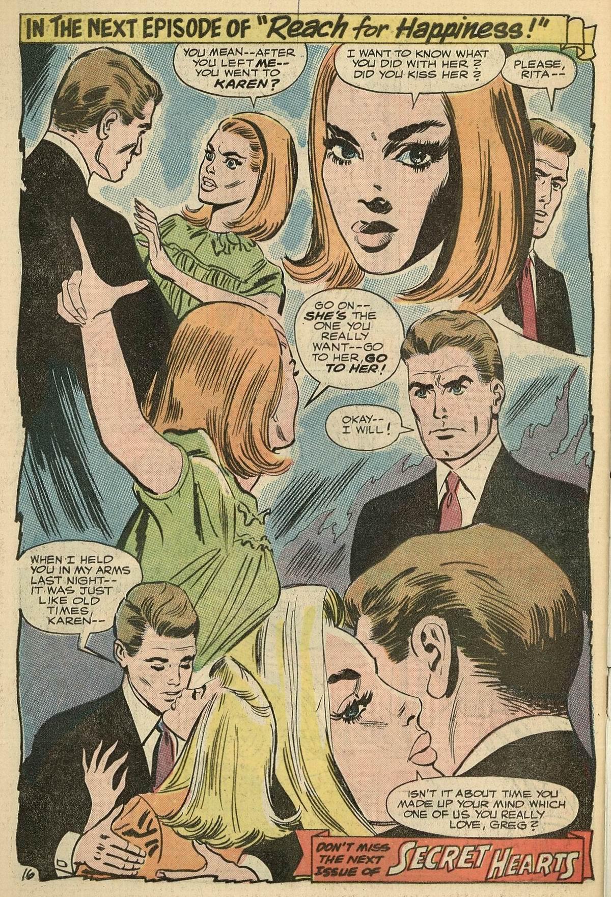 Read online Secret Hearts comic -  Issue #125 - 34