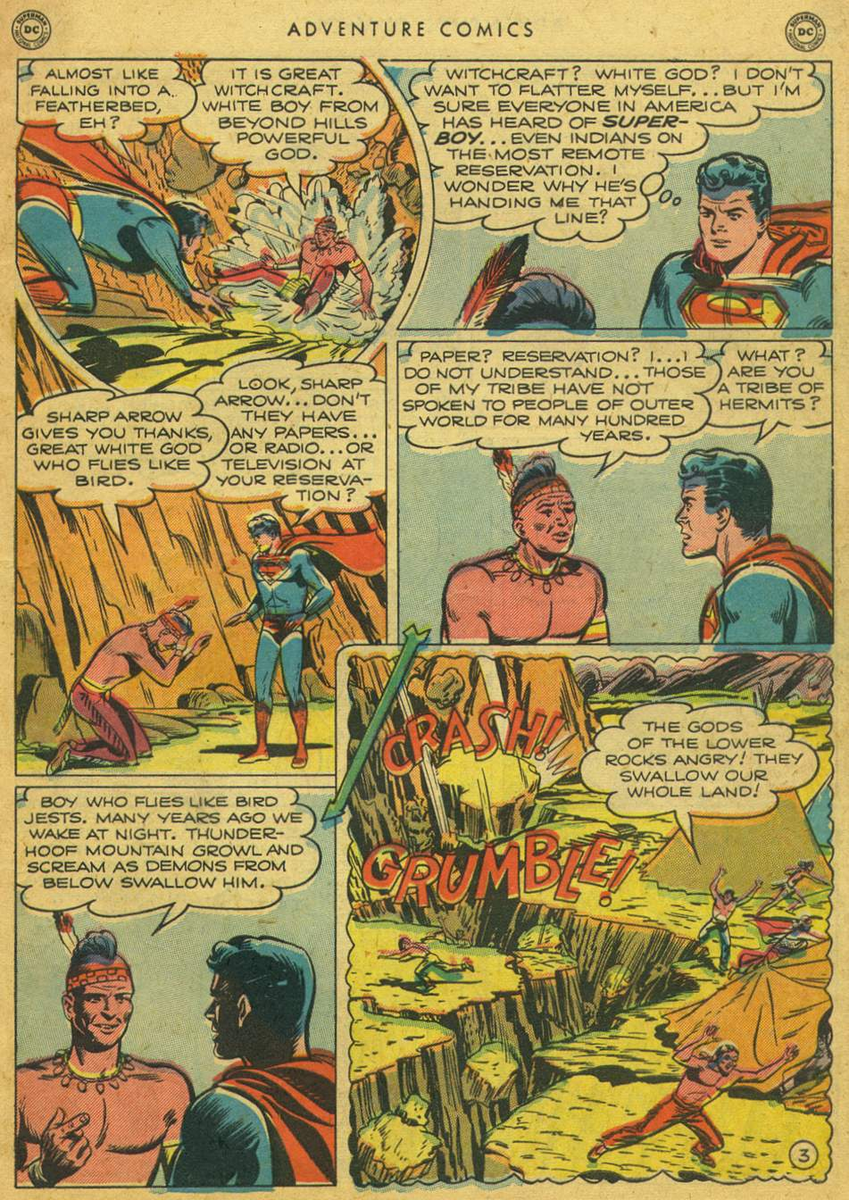 Read online Adventure Comics (1938) comic -  Issue #164 - 5