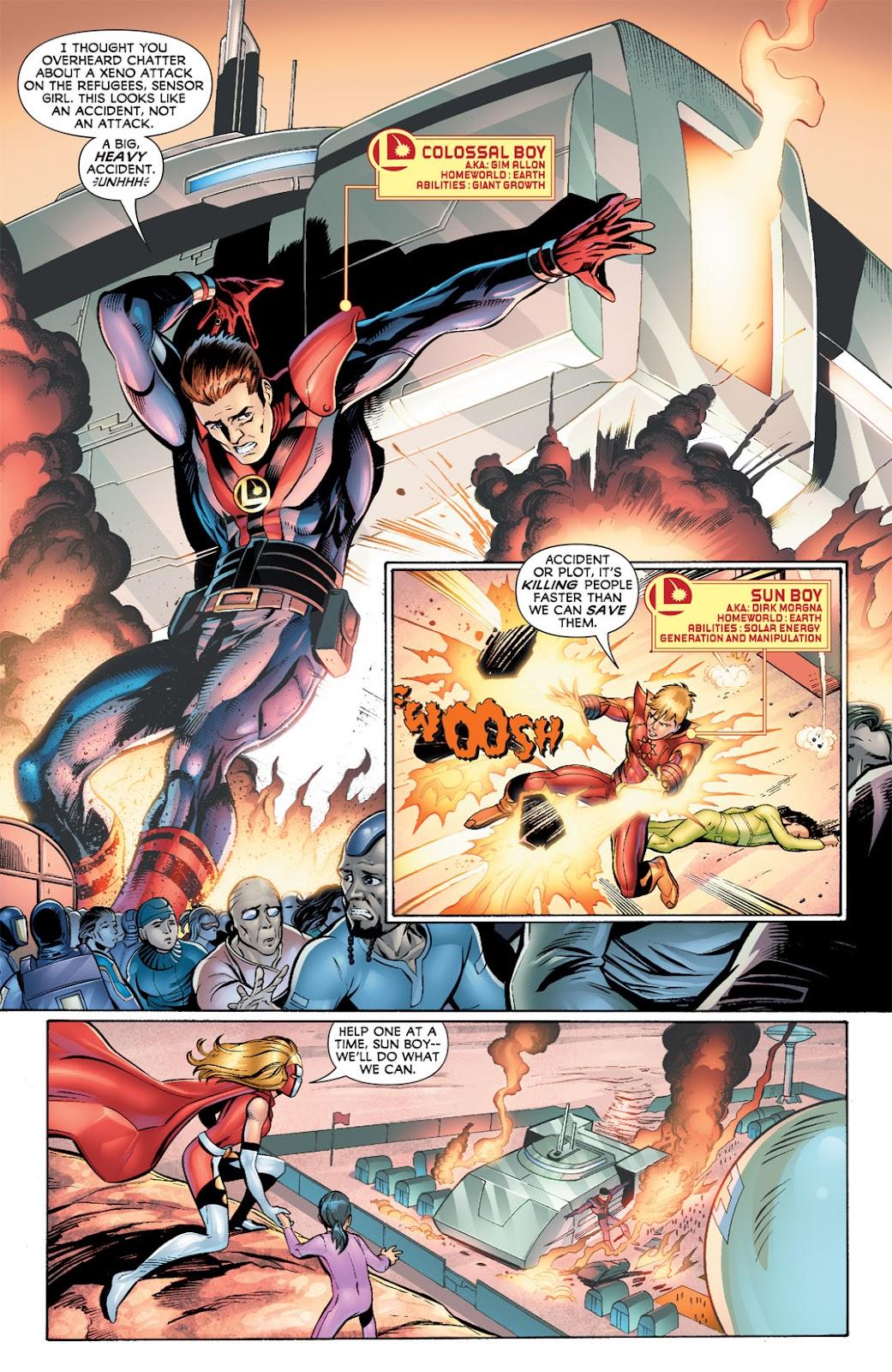 Legion of Super-Heroes (2010) Issue #5 #6 - English 4
