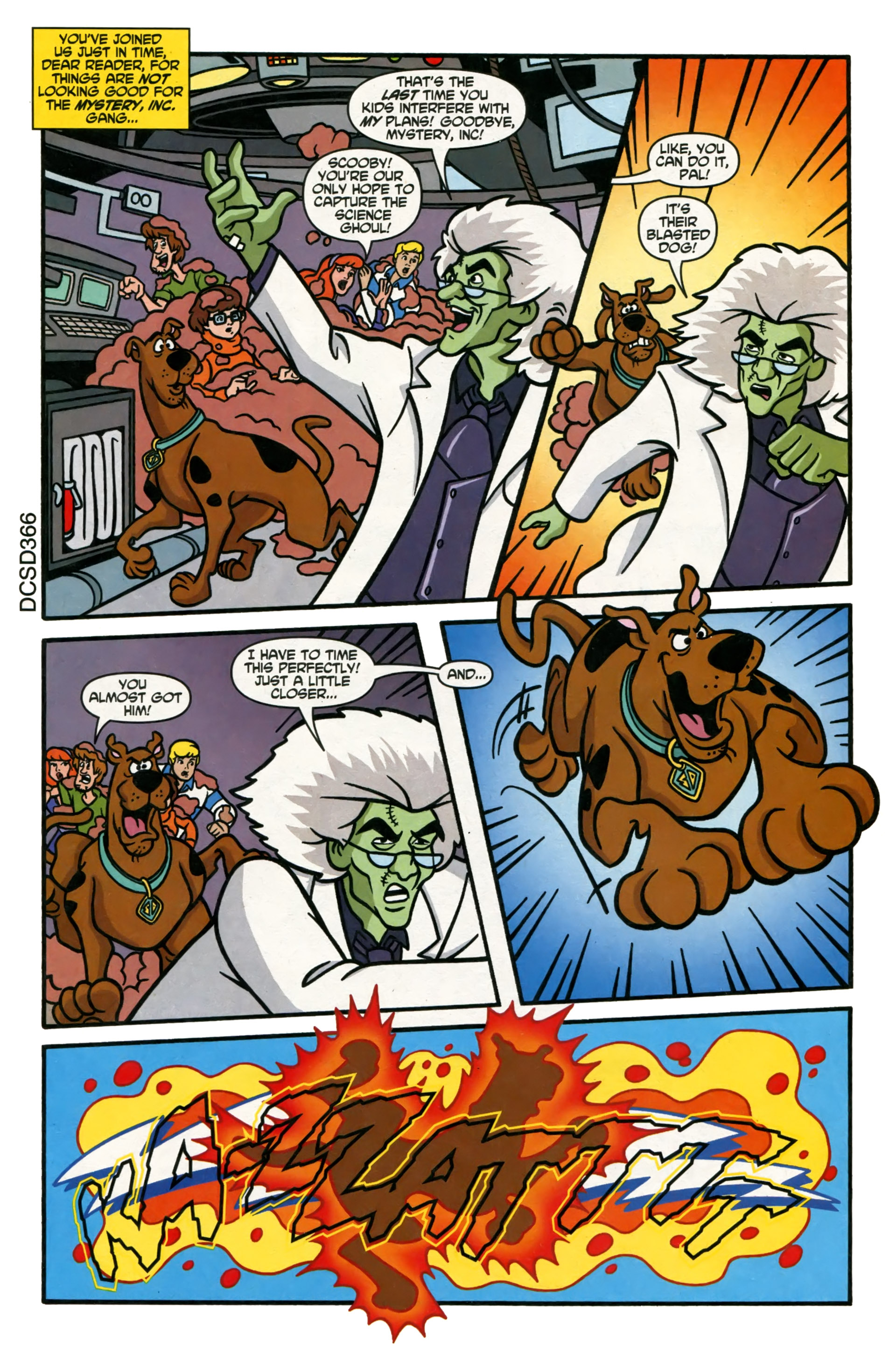 Read online Scooby-Doo (1997) comic -  Issue #108 - 3