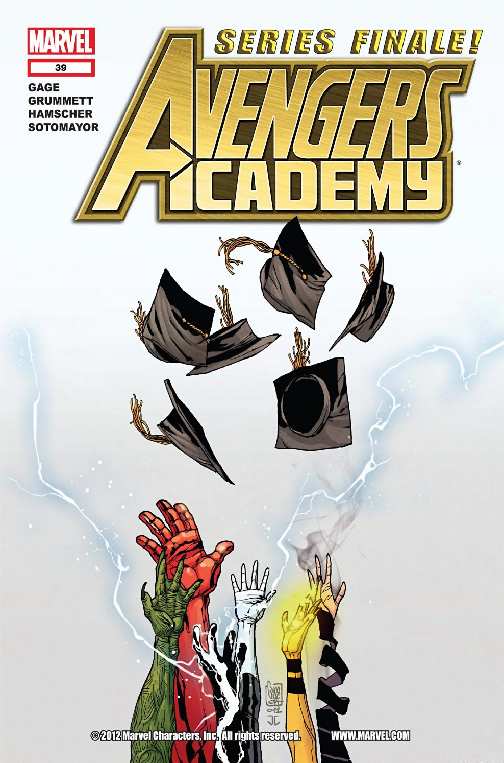Avengers Academy Issue #39 #40 - English 1