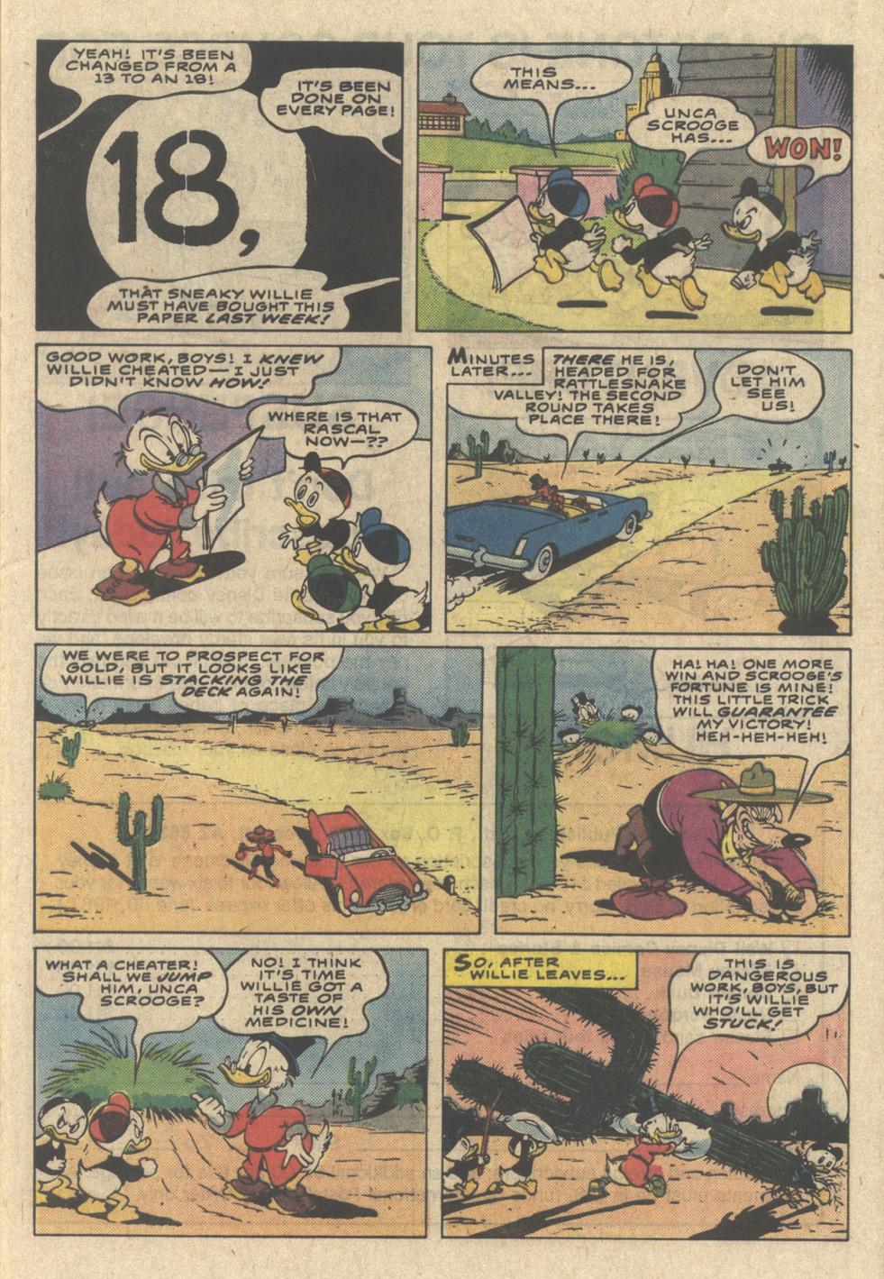Uncle Scrooge (1953) Issue #218 #218 - English 9