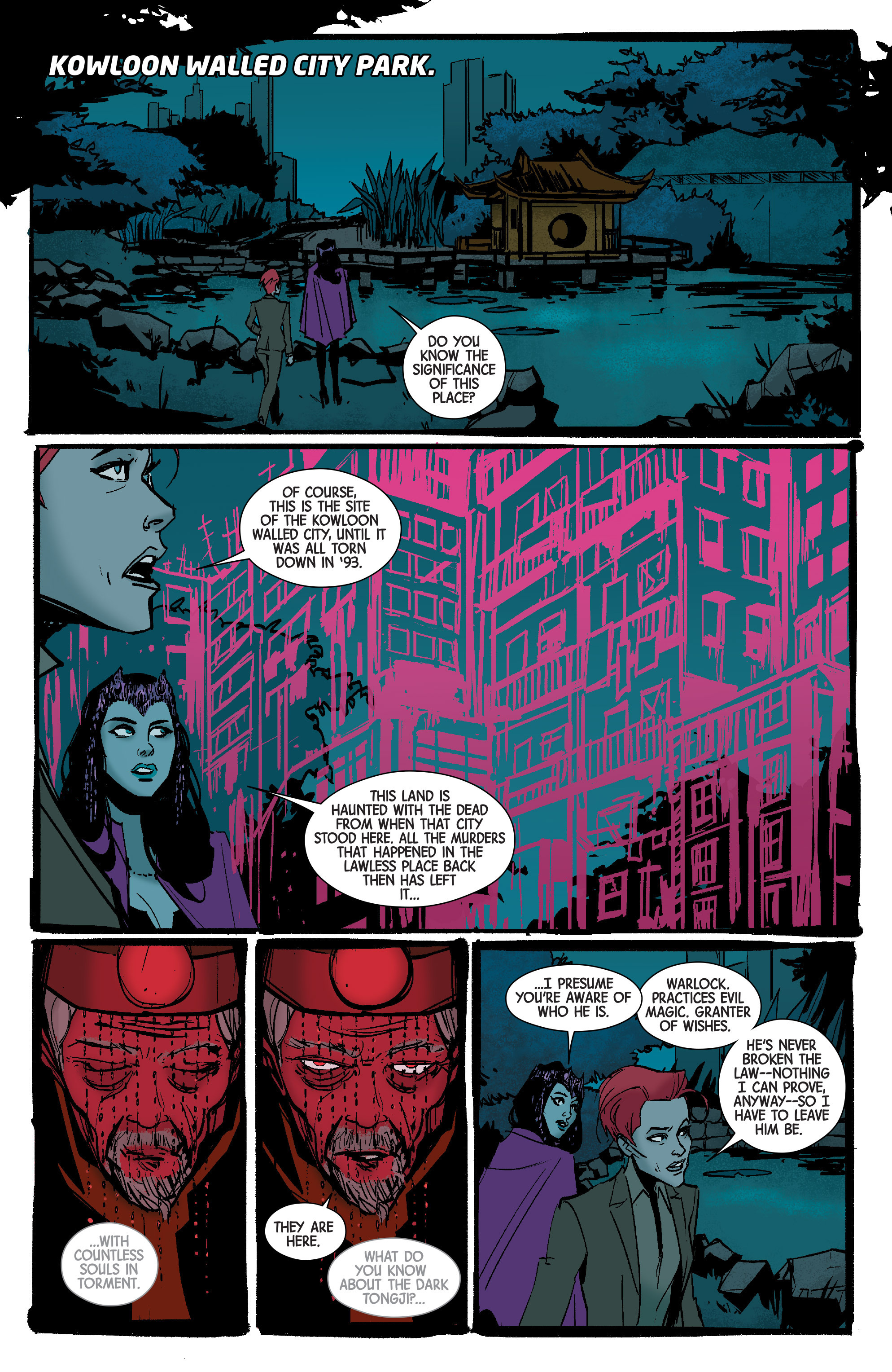 Read online Scarlet Witch (2016) comic -  Issue #7 - 14